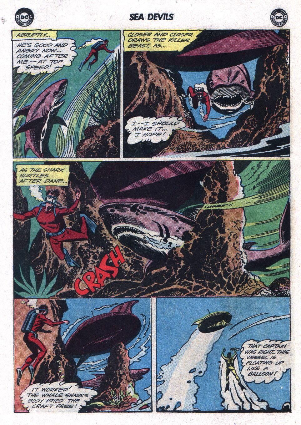Read online Sea Devils comic -  Issue #17 - 18