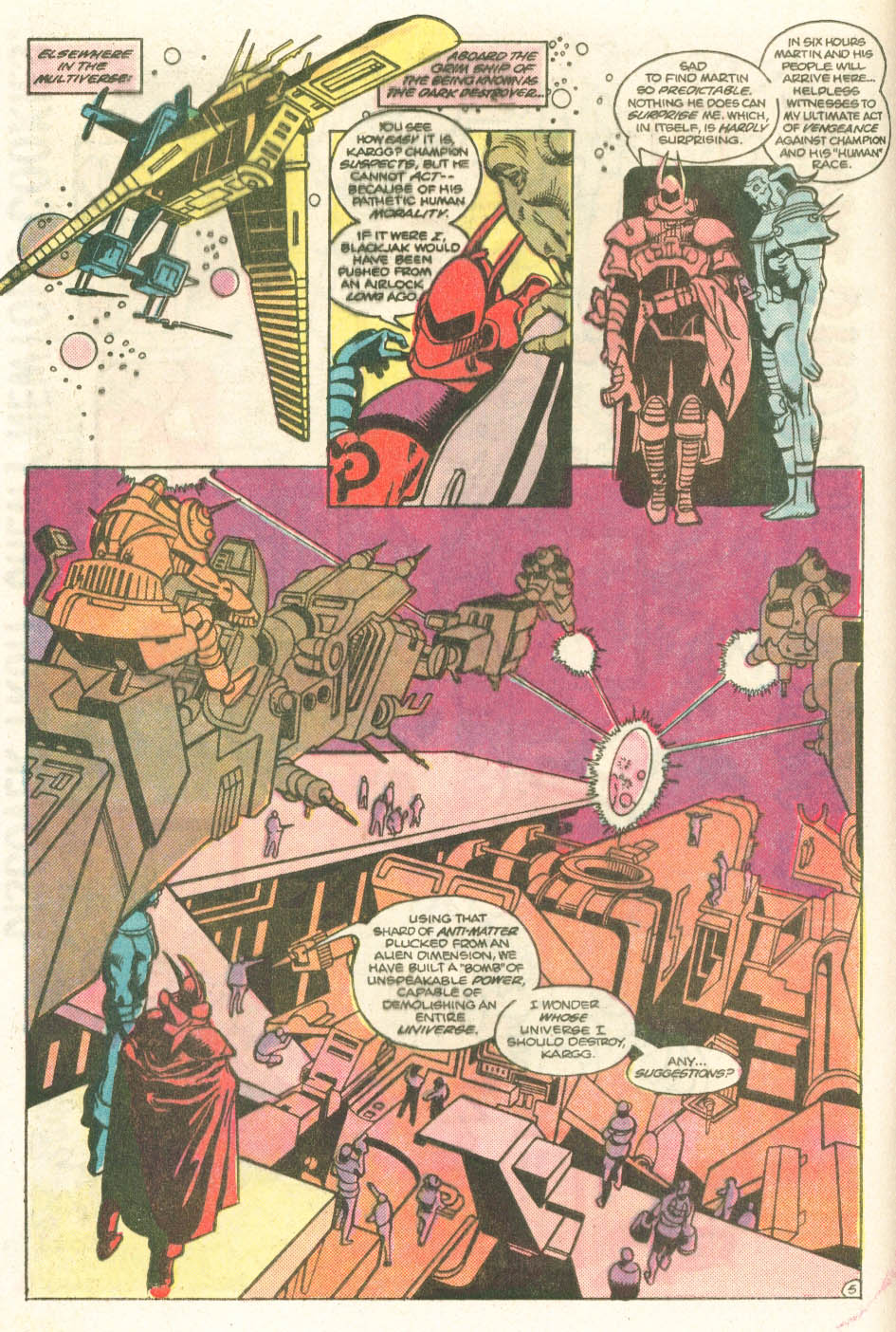 Read online Atari Force (1984) comic -  Issue #11 - 7