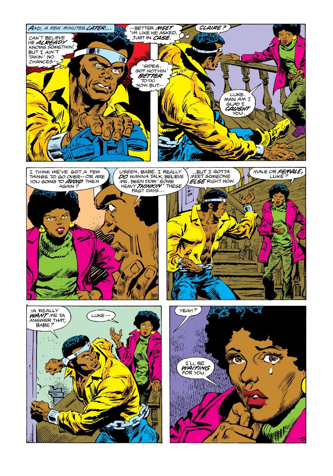 Read online Marvel Masterworks: Luke Cage, Power Man comic -  Issue # TPB 3 (Part 3) - 16