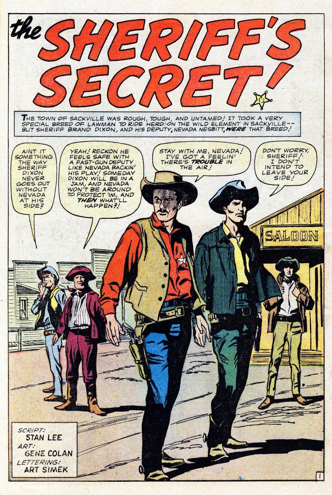 Gunsmoke Western issue 76 - Page 28
