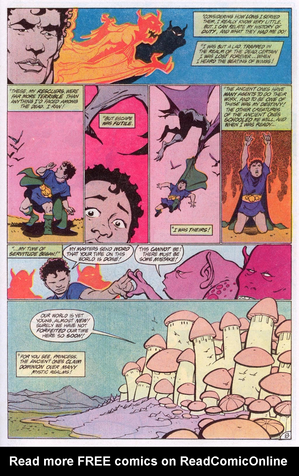 Read online Amethyst (1985) comic -  Issue #10 - 11
