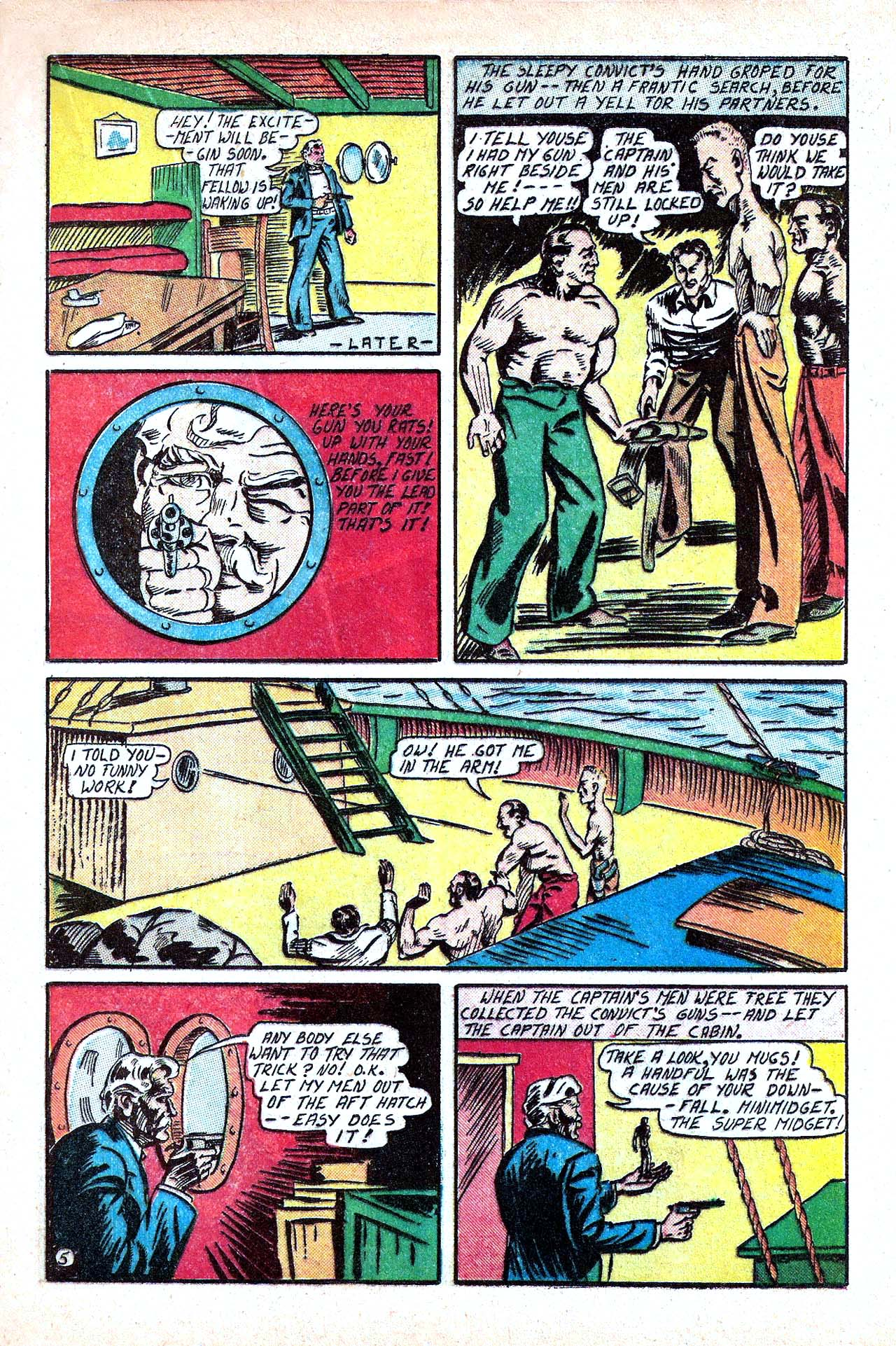 Read online Amazing Man Comics comic -  Issue #11 - 33