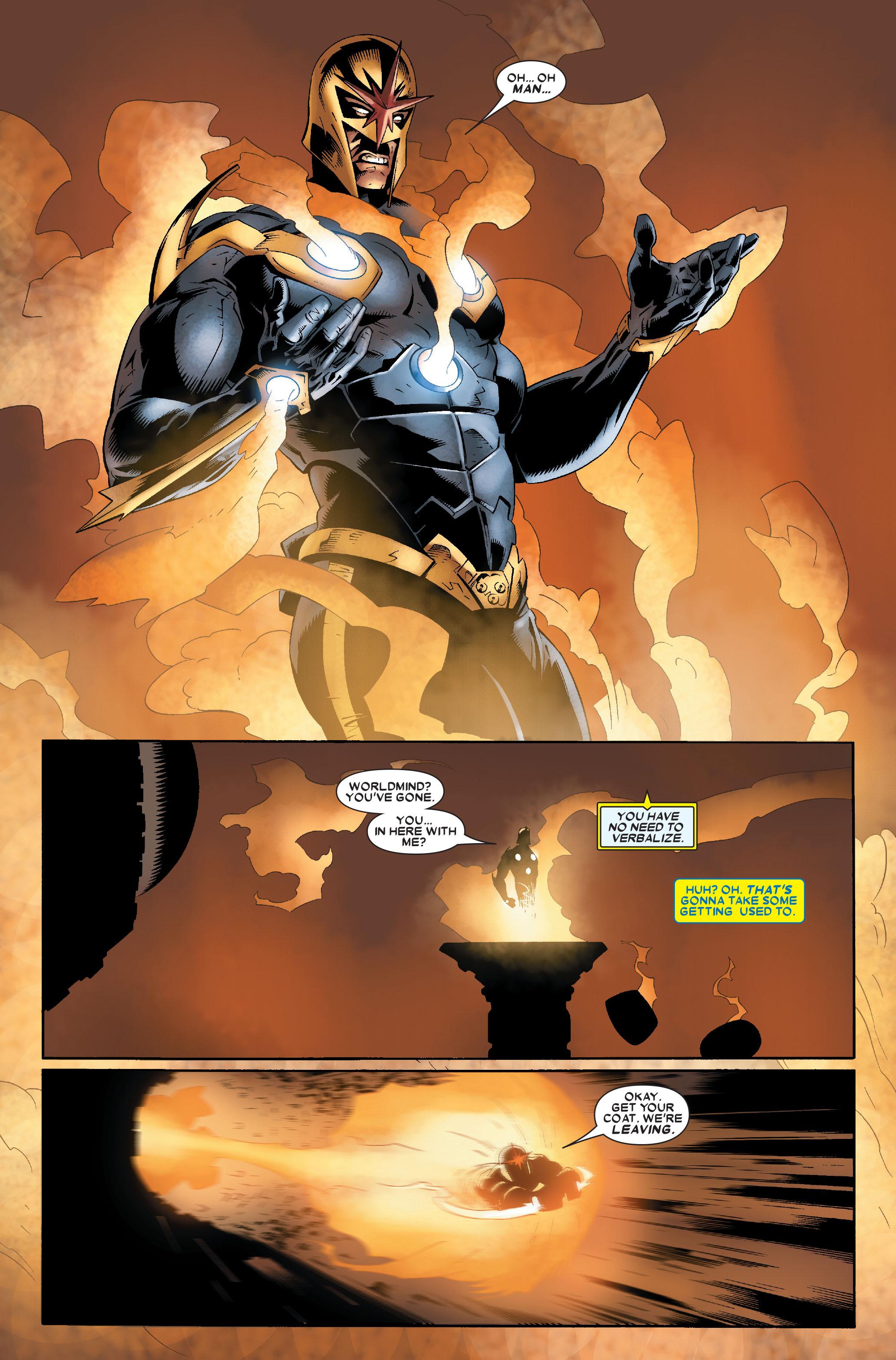 Read online Annihilation: Nova comic -  Issue #1 - 17