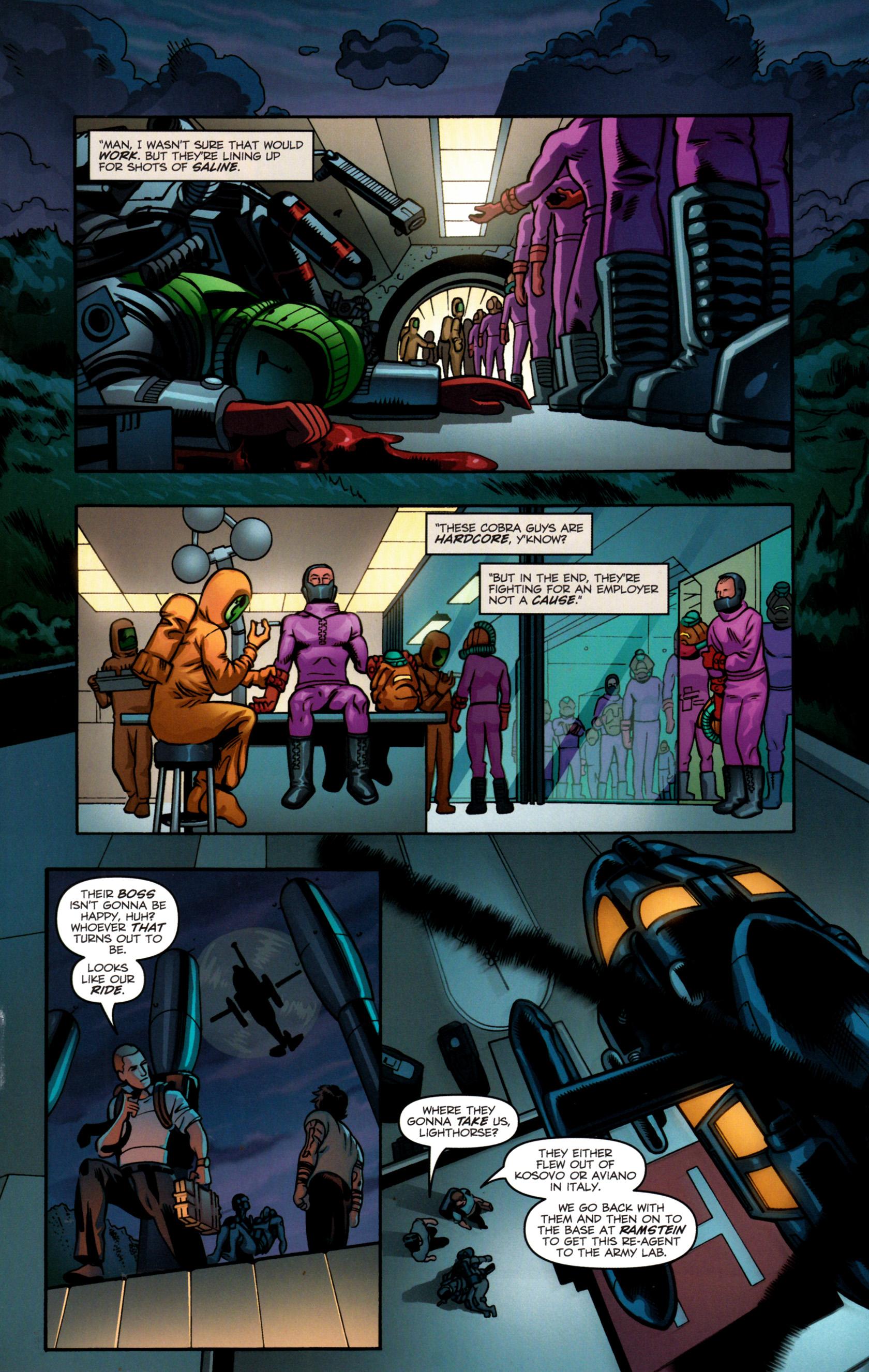 Read online G.I. Joe: Snake Eyes comic -  Issue #8 - 23