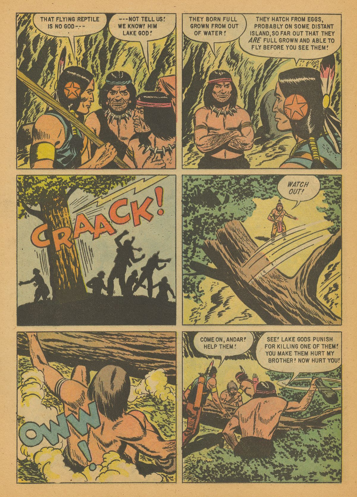 Read online Turok, Son of Stone comic -  Issue #14 - 24