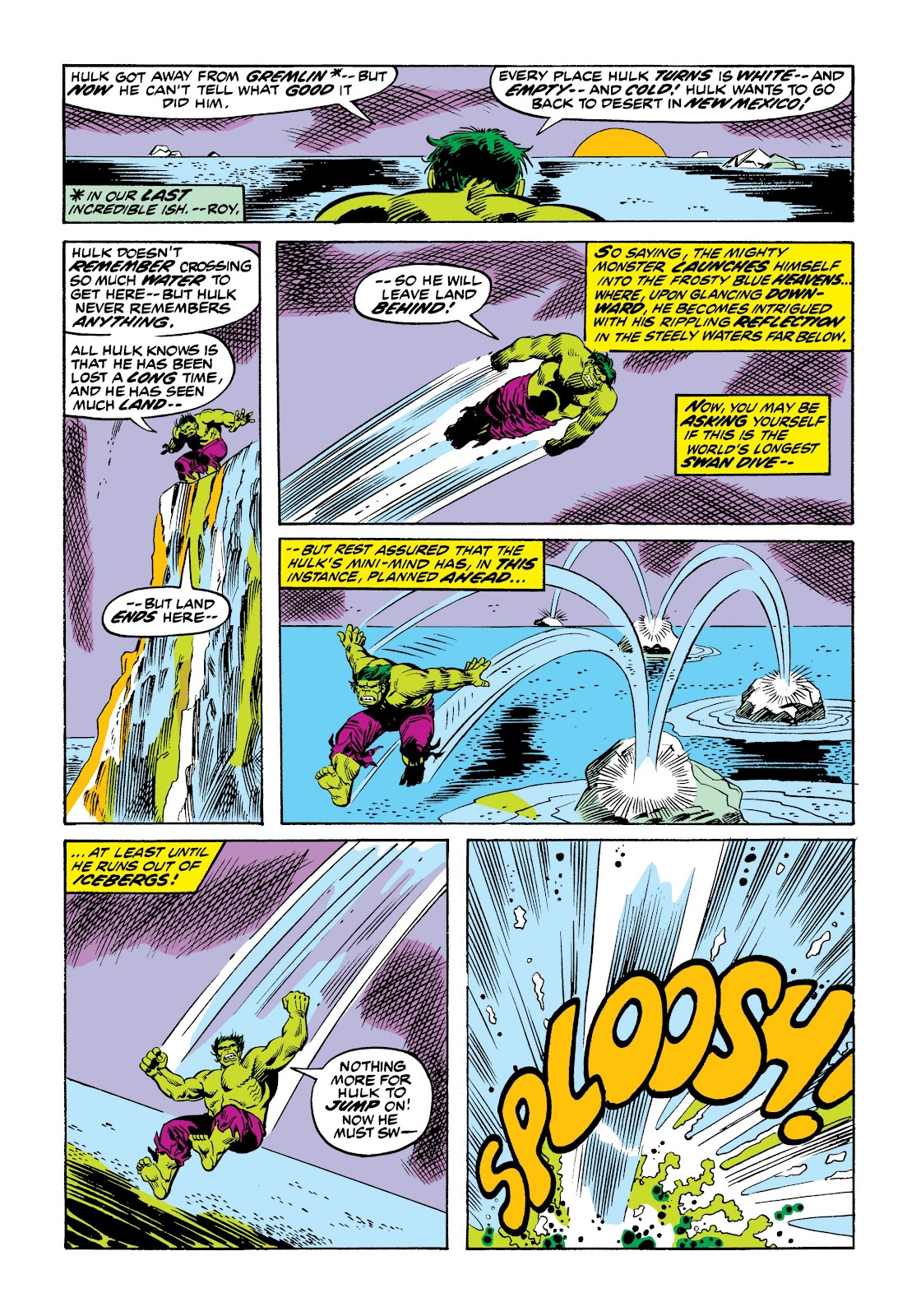 Read online Marvel Masterworks: The Incredible Hulk comic -  Issue # TPB 9 (Part 2) - 58