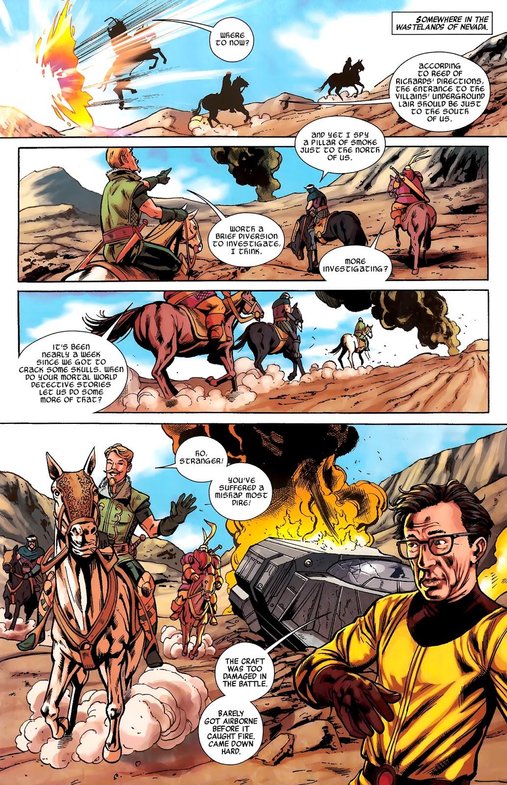 Warriors Three Issue #2 #2 - English 21