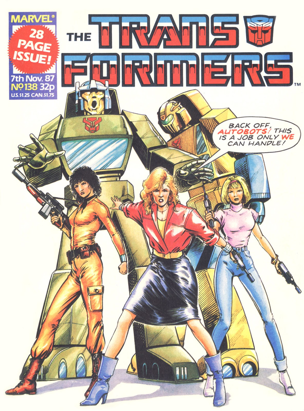 The Transformers (UK) 138 Page 1