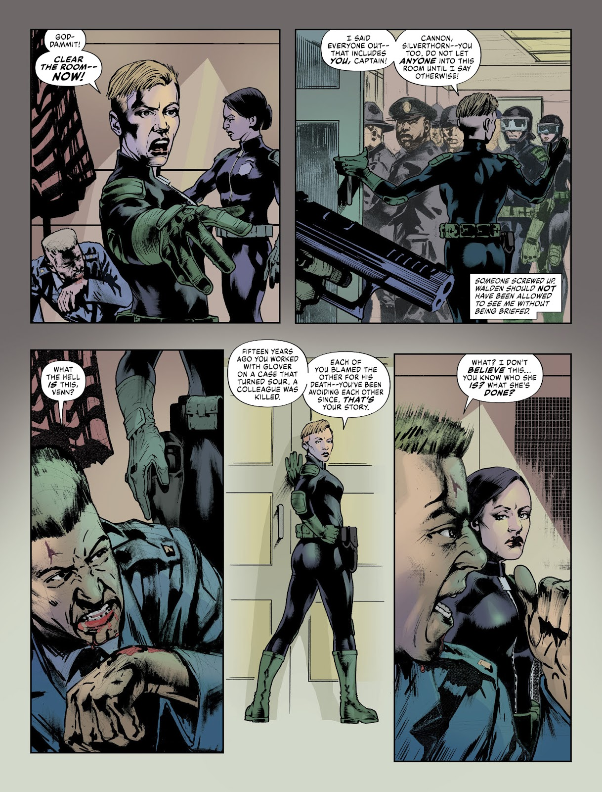 Judge Dredd Megazine (Vol. 5) issue 427 - Page 30