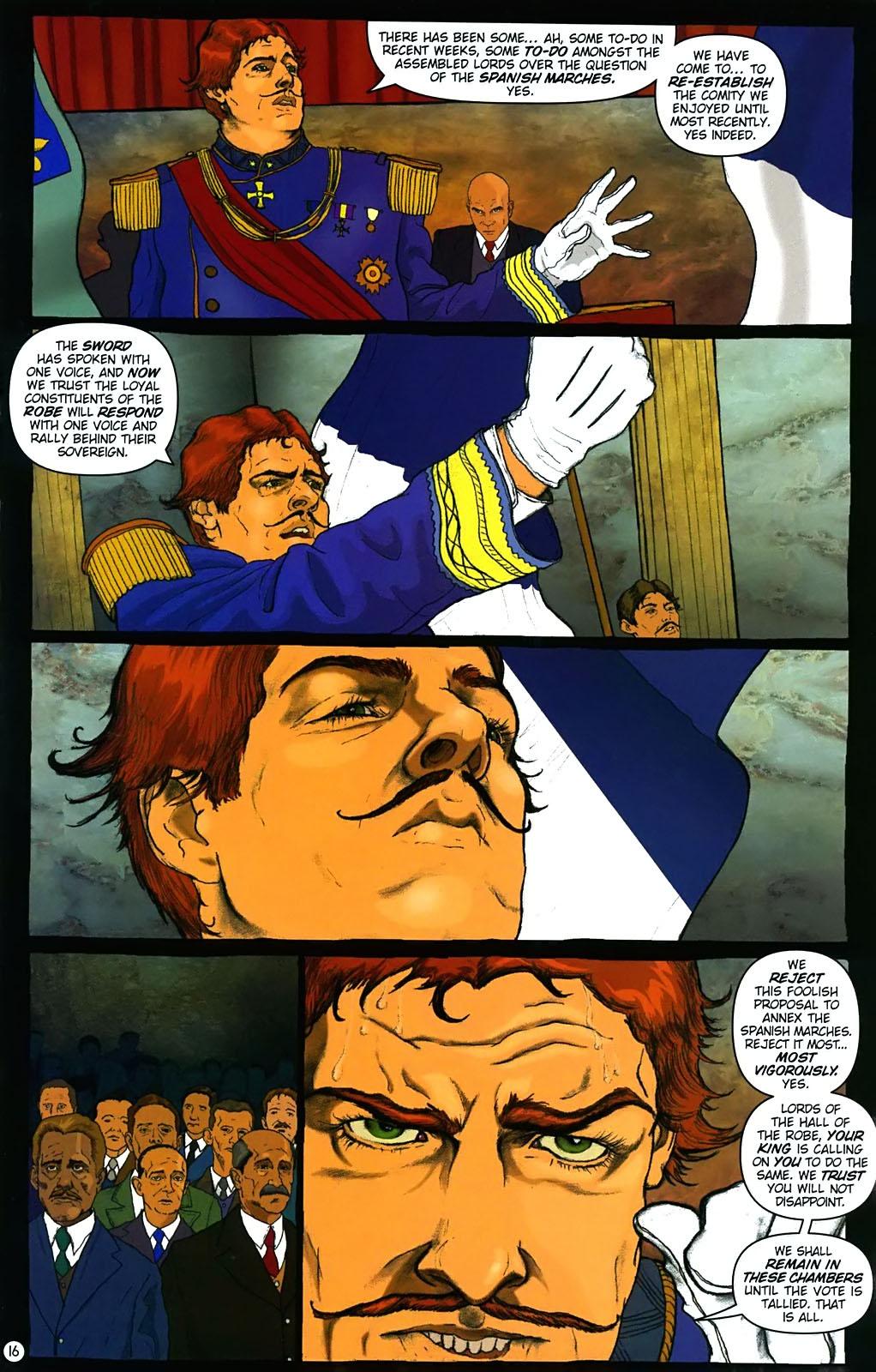 Read online Rex Mundi comic -  Issue #15 - 20