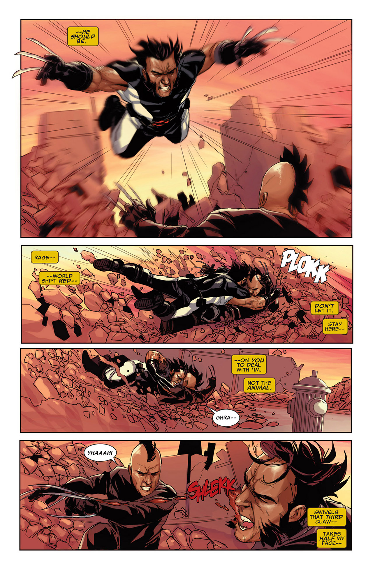 Read online Uncanny X-Force (2010) comic -  Issue #34 - 14