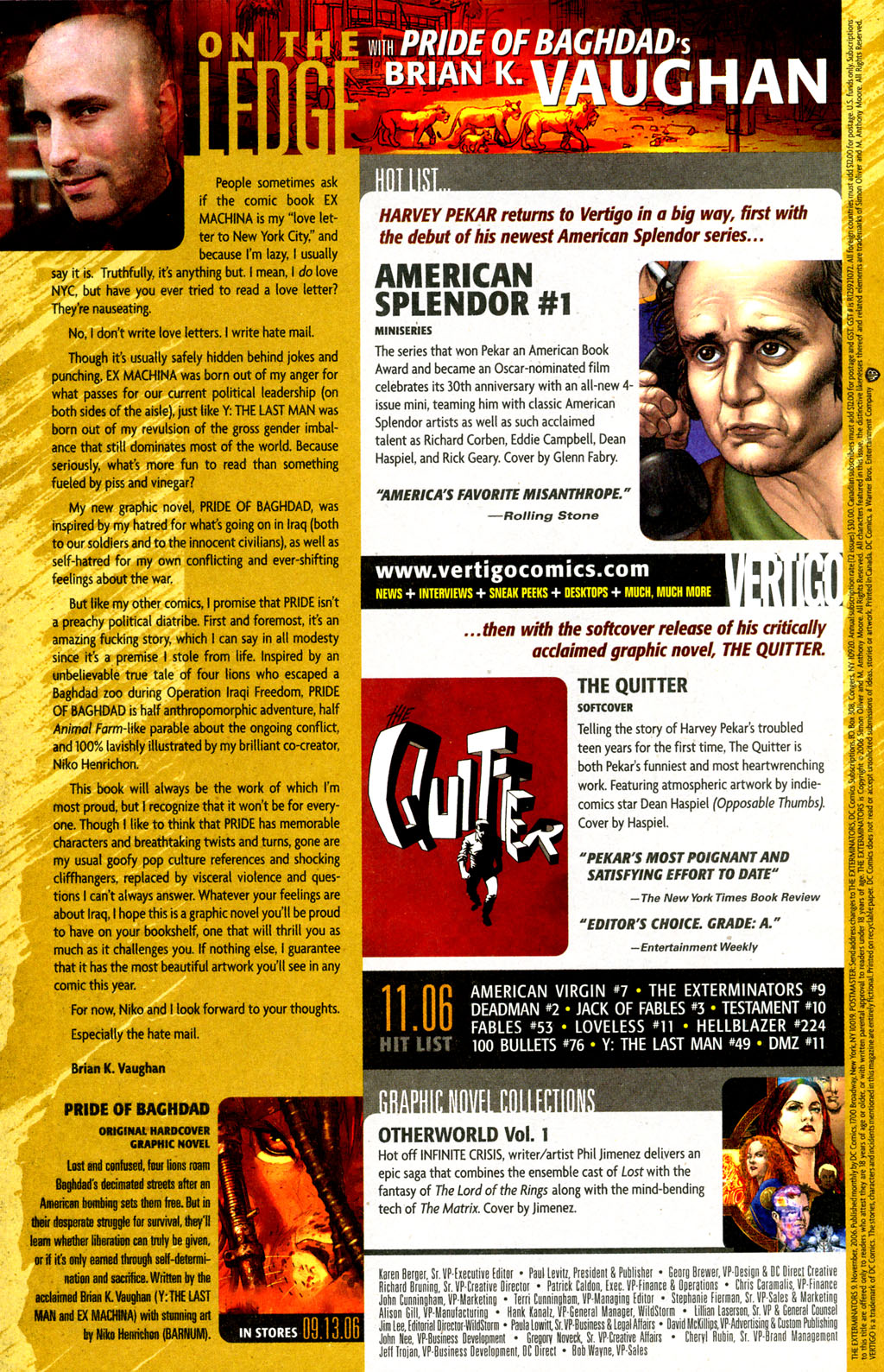 Read online The Exterminators comic -  Issue #9 - 22