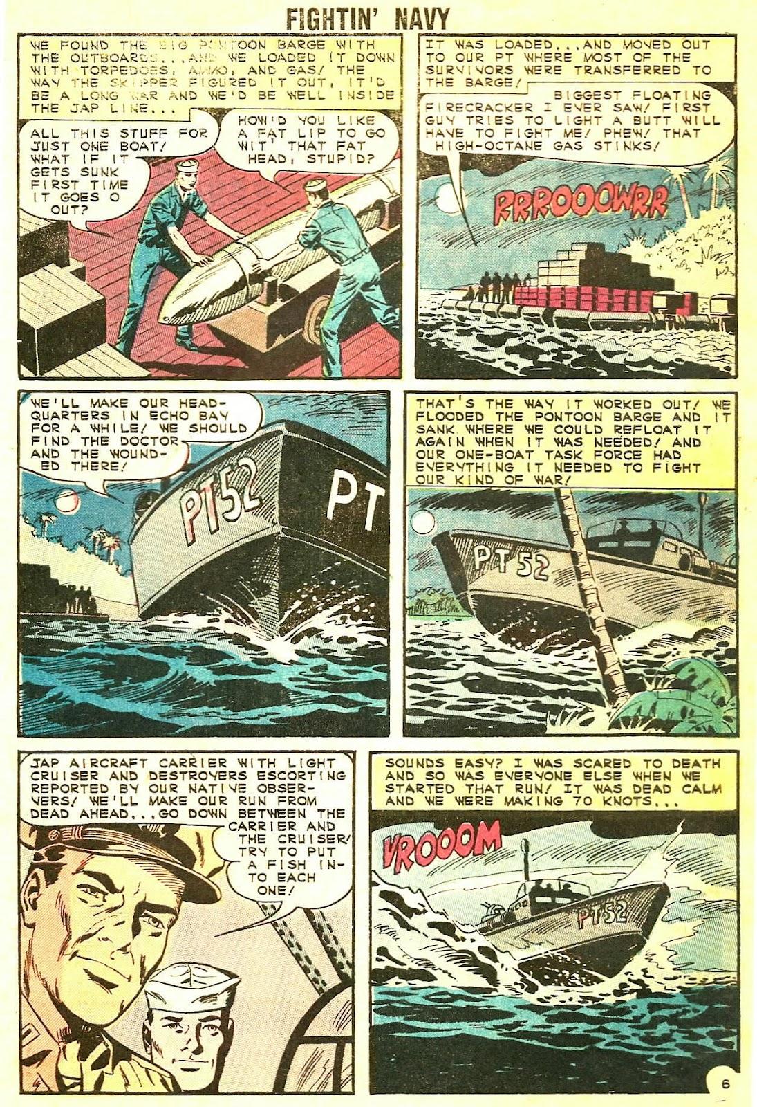 Read online Fightin' Navy comic -  Issue #115 - 32