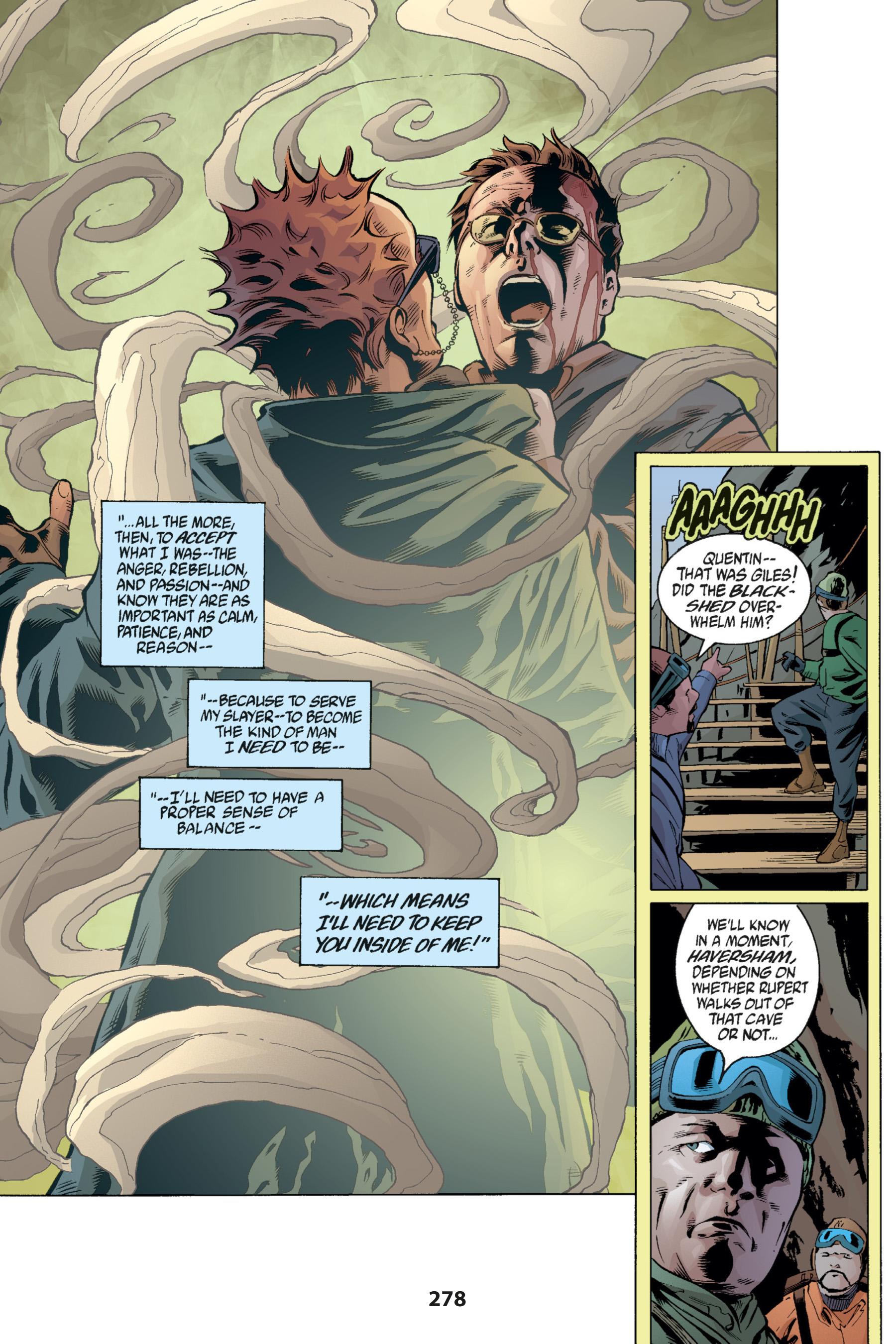 Read online Buffy the Vampire Slayer: Omnibus comic -  Issue # TPB 1 - 269