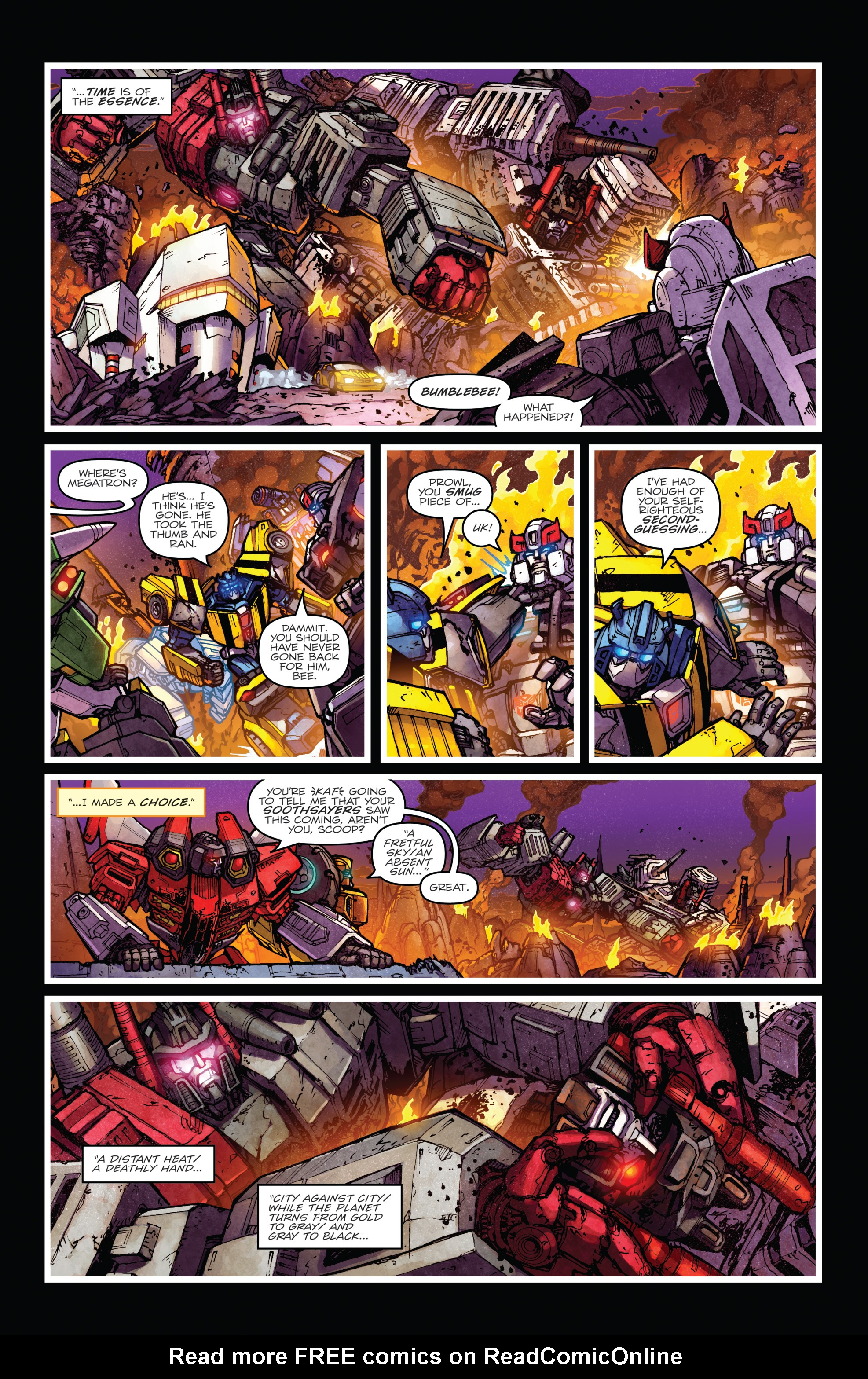 Read online The Transformers: Dark Cybertron Finale comic -  Issue # Full - 71