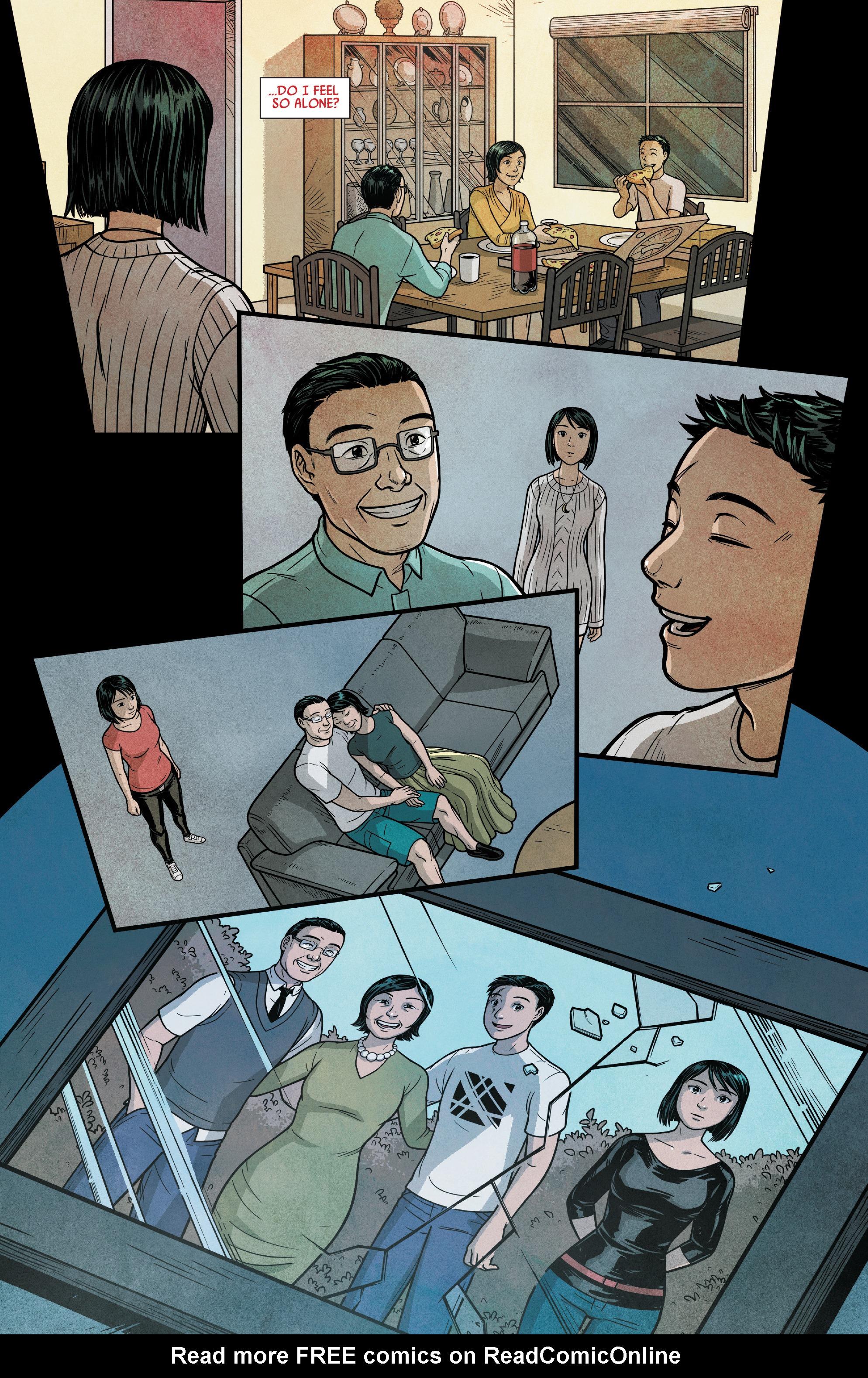 Read online Silk (2016) comic -  Issue #14 - 5