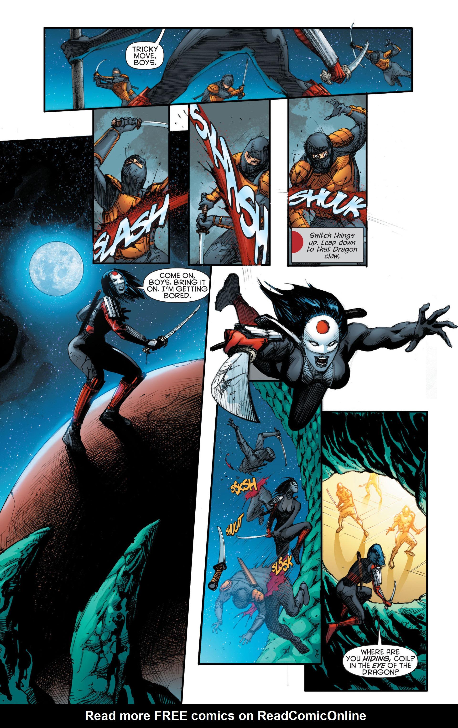 Read online Katana comic -  Issue #7 - 12
