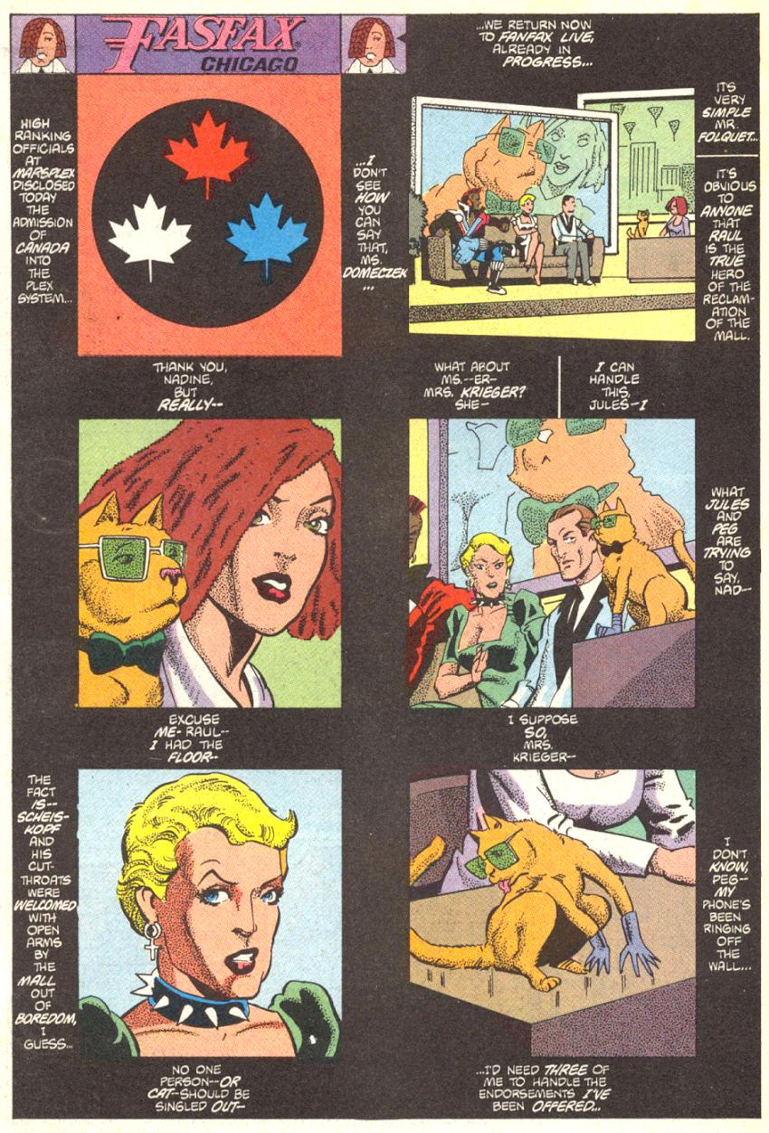Read online American Flagg! comic -  Issue #14 - 2