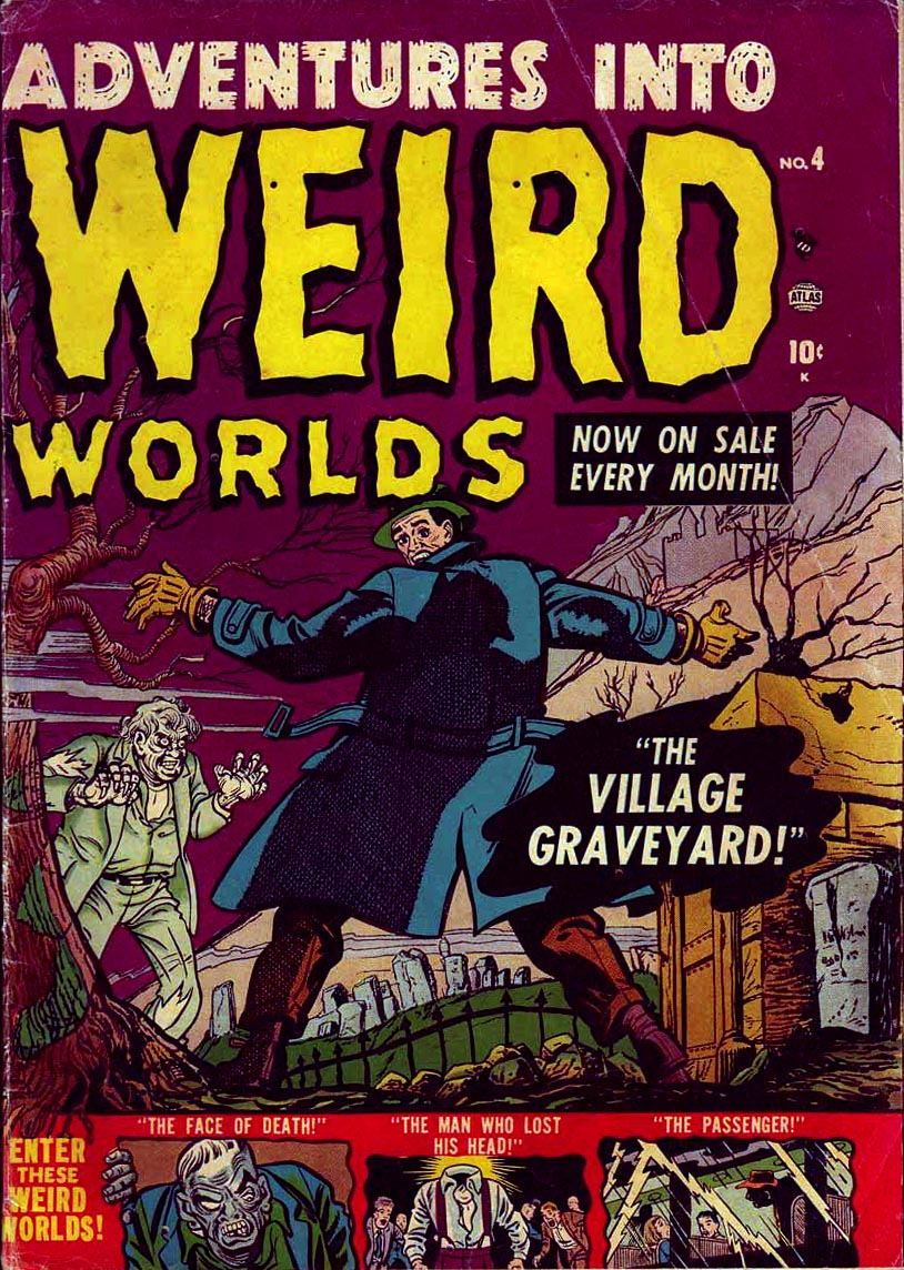 Read online Adventures into Weird Worlds comic -  Issue #4 - 1