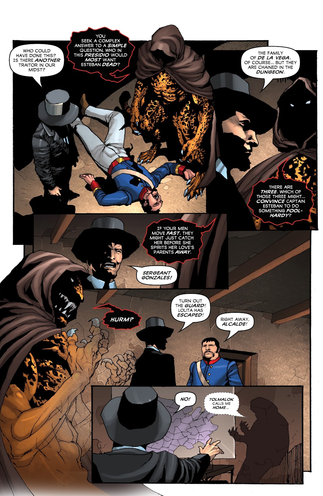 Read online Zorro: Swords of Hell comic -  Issue #4 - 4