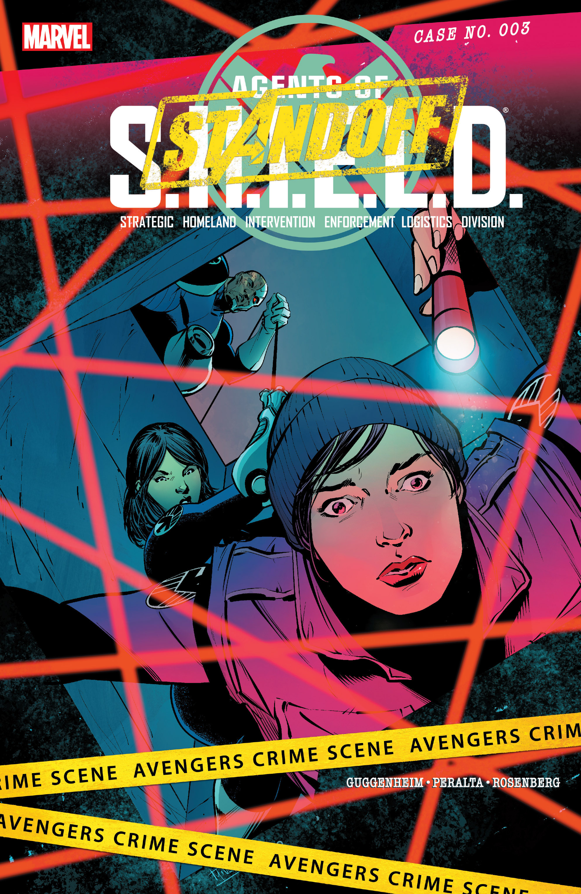 Read online Agents of S.H.I.E.L.D. comic -  Issue #3 - 1
