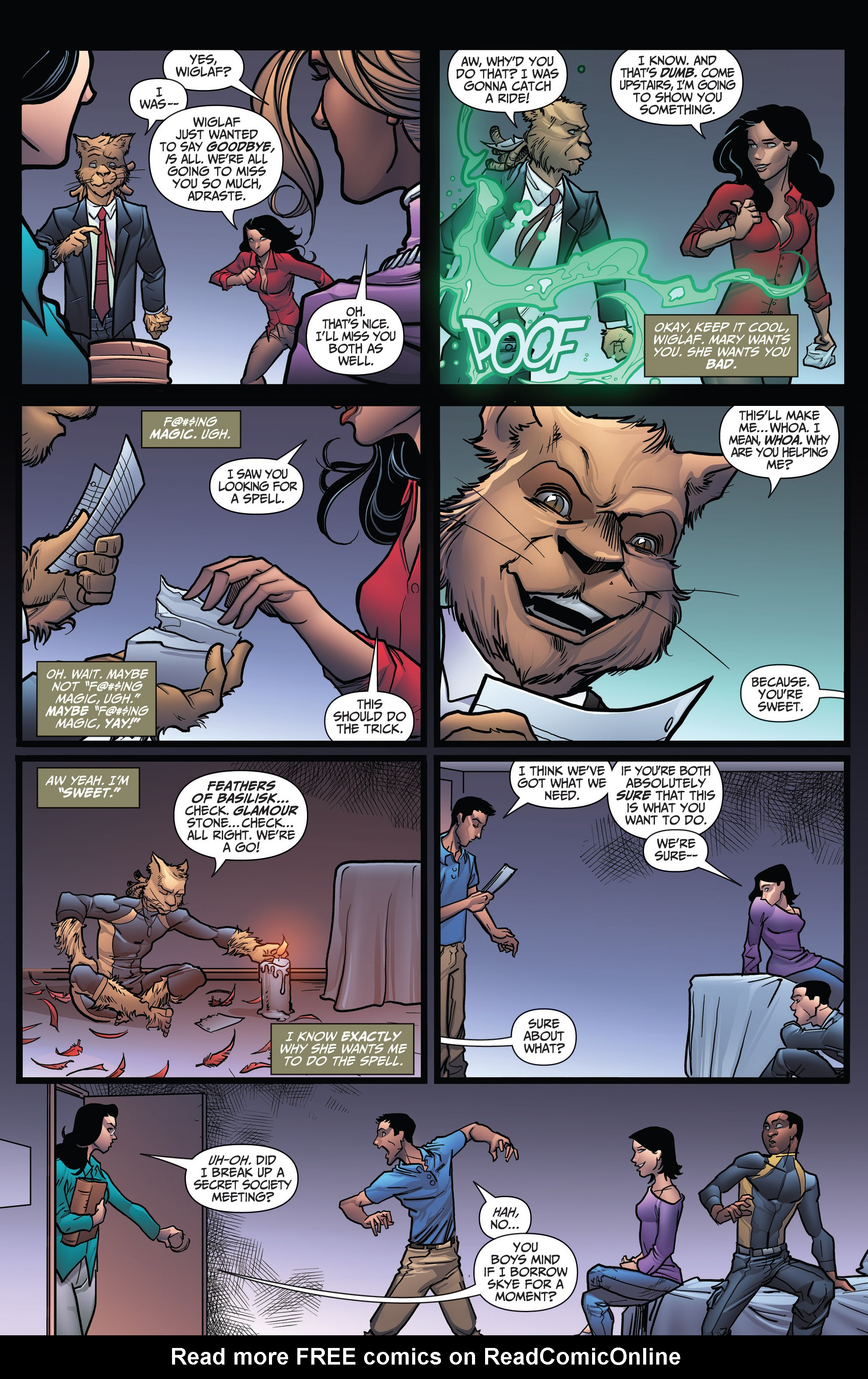Read online Grimm Fairy Tales: Arcane Acre comic -  Issue # TPB 3 - 123