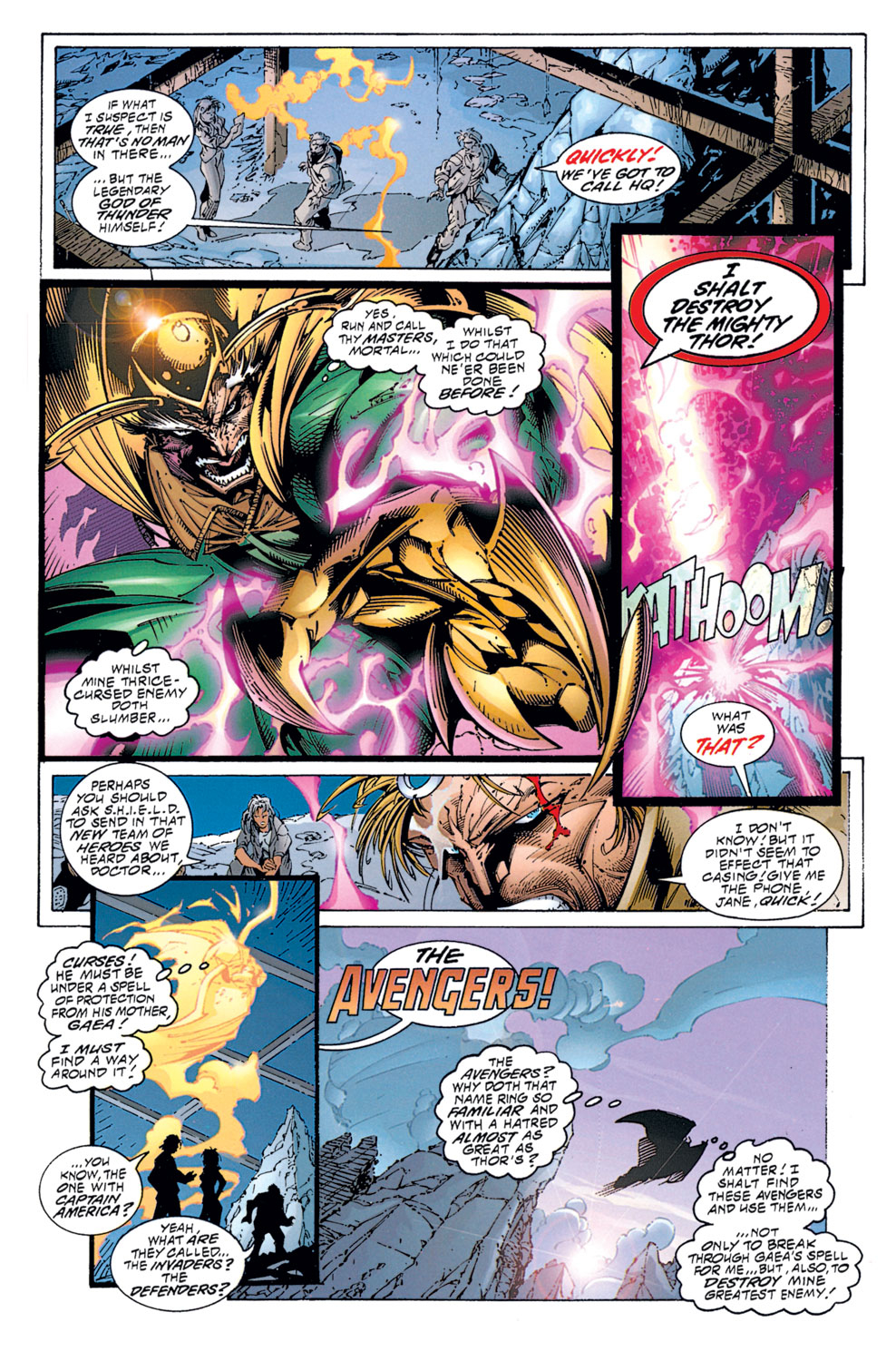 Read online Avengers (1996) comic -  Issue #1 - 5