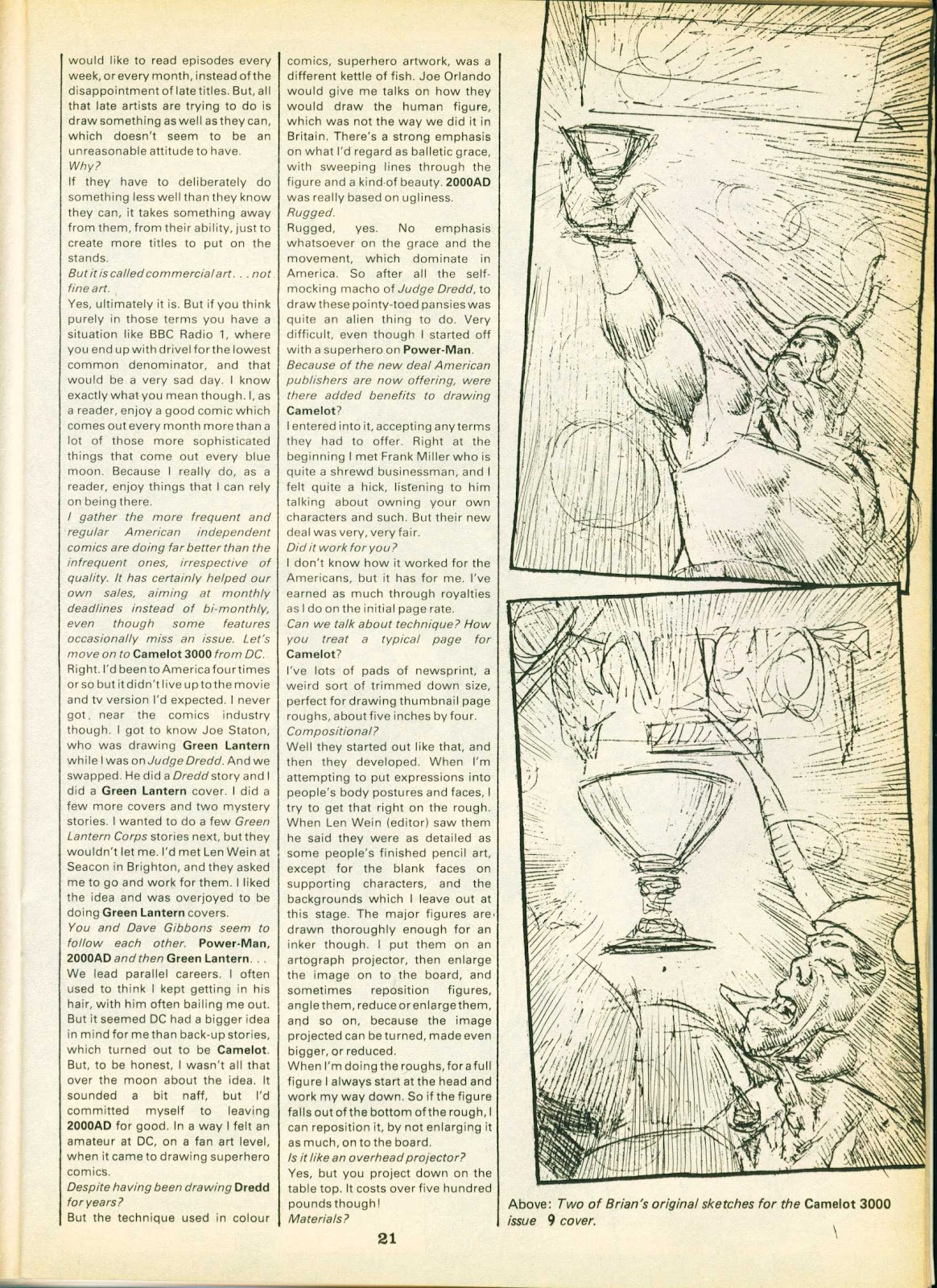 Warrior Issue #23 #24 - English 21