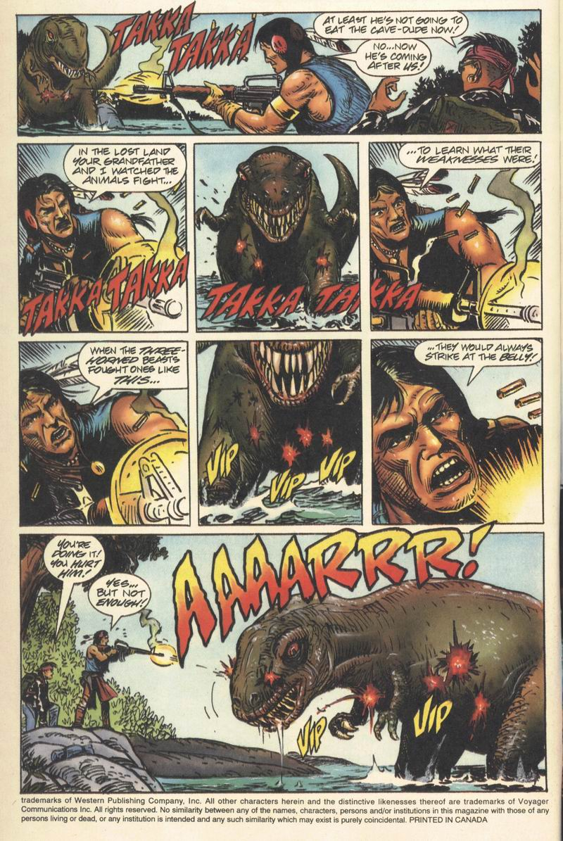Read online Turok, Dinosaur Hunter (1993) comic -  Issue #9 - 5