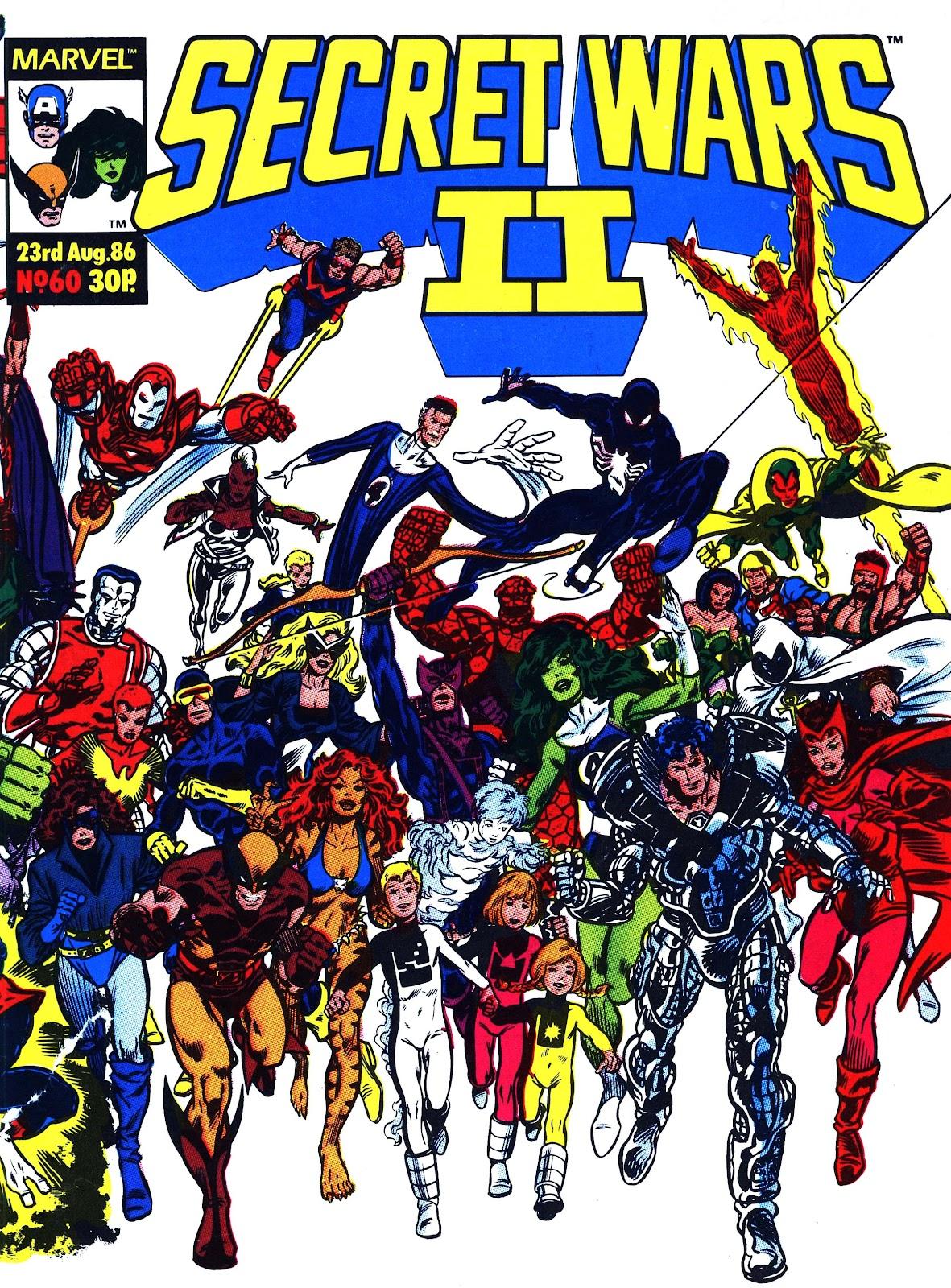 Secret Wars (1985) issue 60 - Page 1