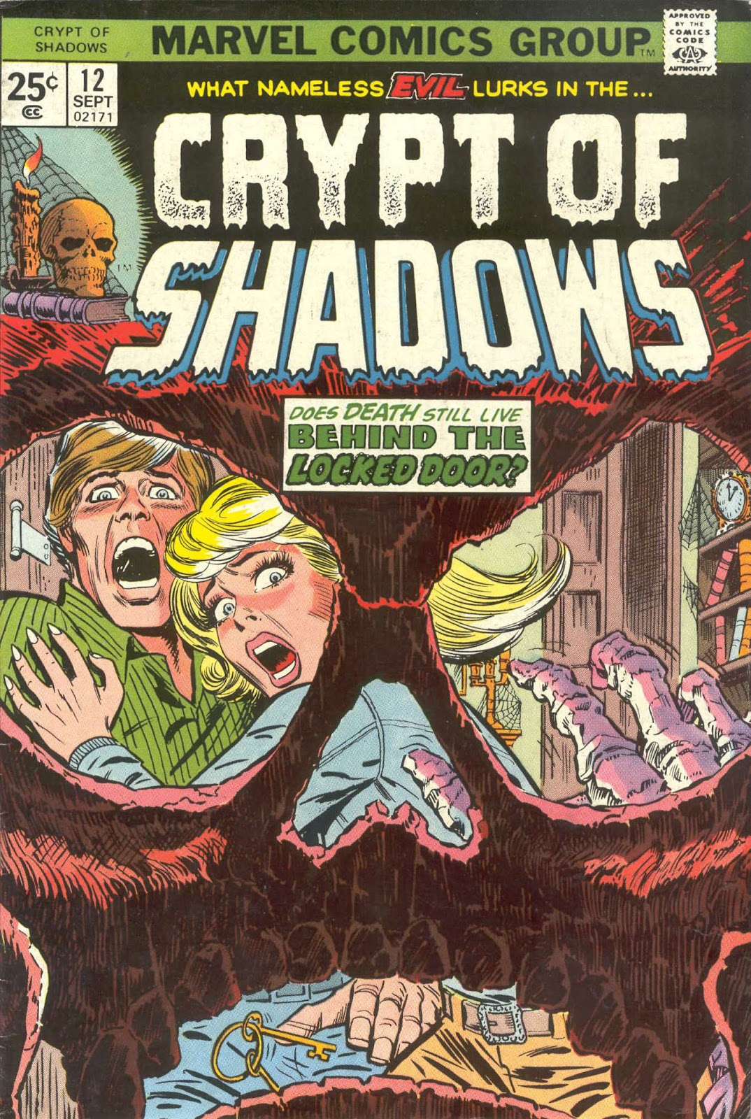 Crypt of Shadows (1973) issue 12 - Page 1