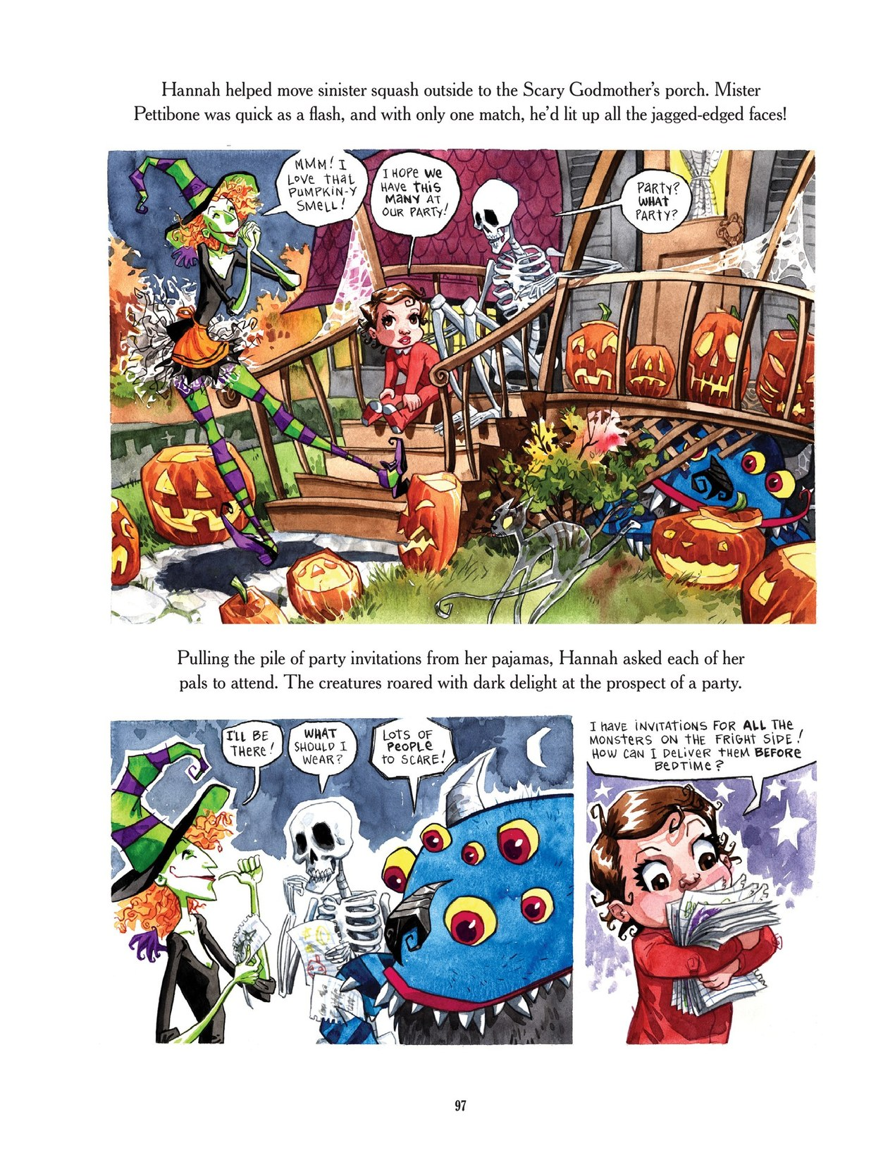 Read online Scary Godmother comic -  Issue # TPB - 97