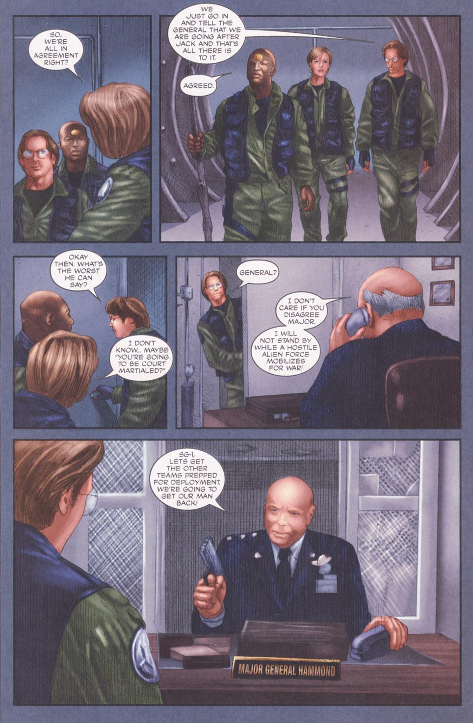 Read online Stargate SG-1: POW comic -  Issue #2 - 24