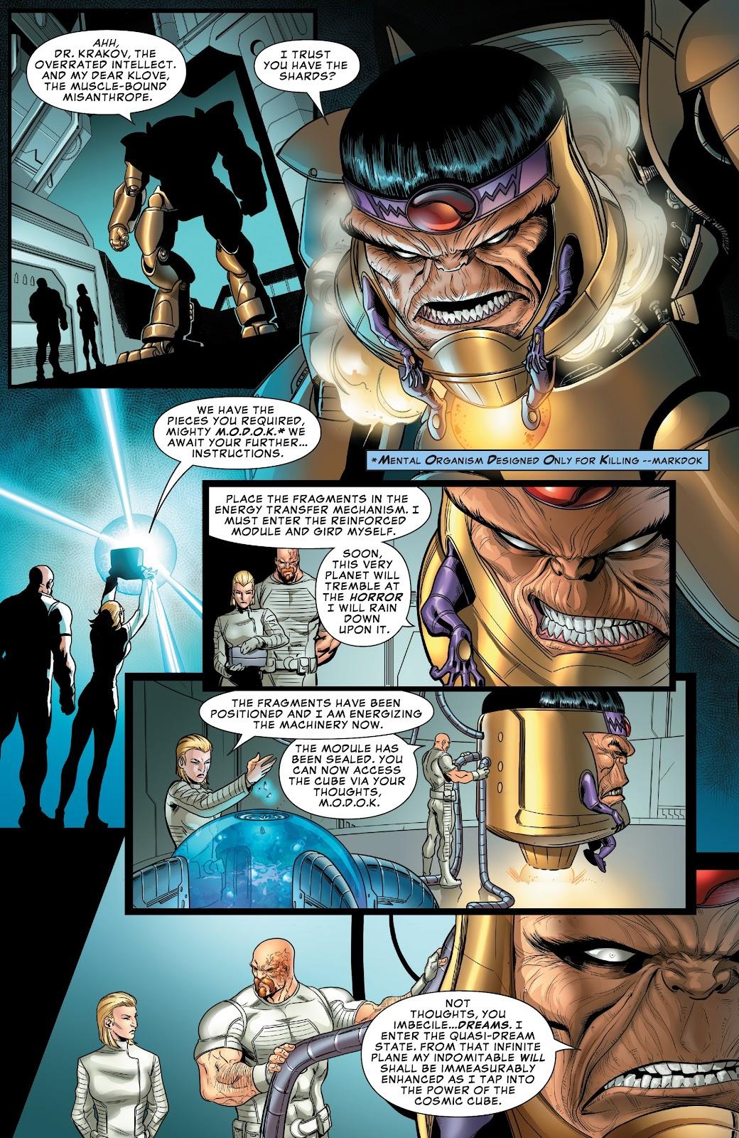 Read online Avengers: Edge of Infinity comic -  Issue # Full - 12