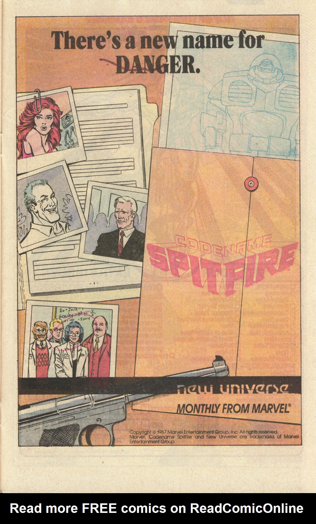 Read online Spitfire and the Troubleshooters comic -  Issue #9 - 25