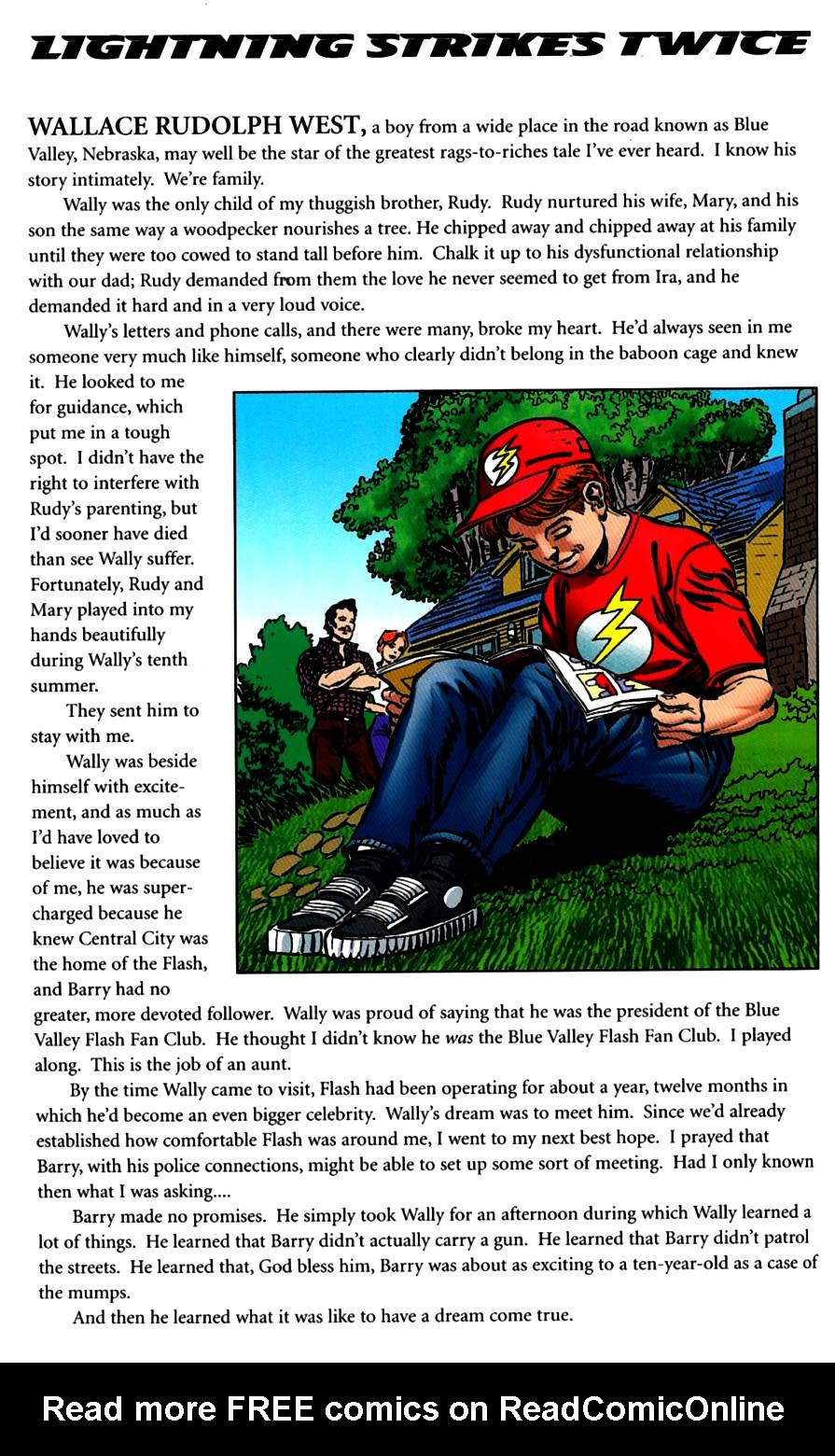 Read online The Life Story of the Flash comic -  Issue # Full - 34