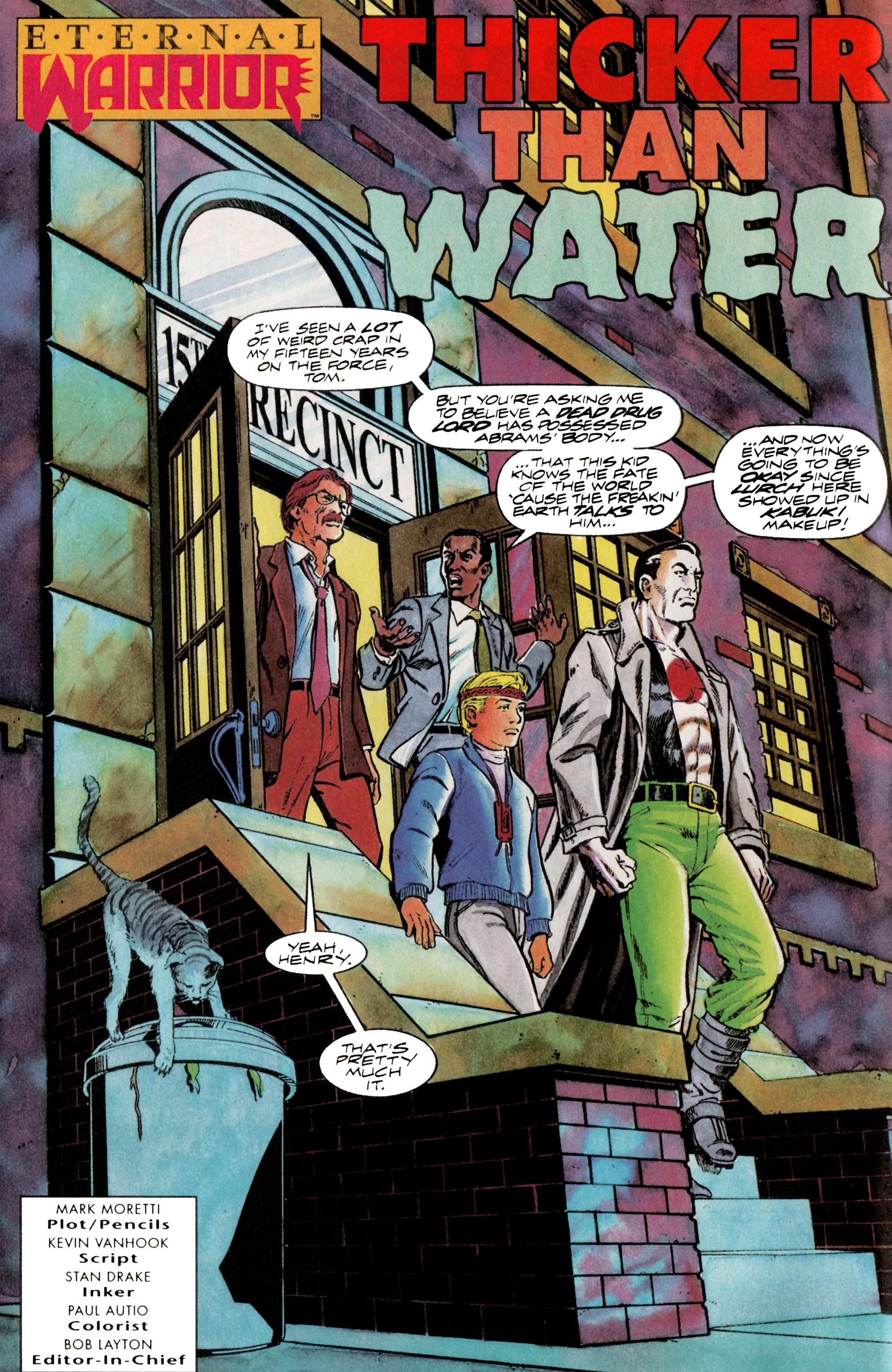 Read online Eternal Warrior (1992) comic -  Issue #14 - 6