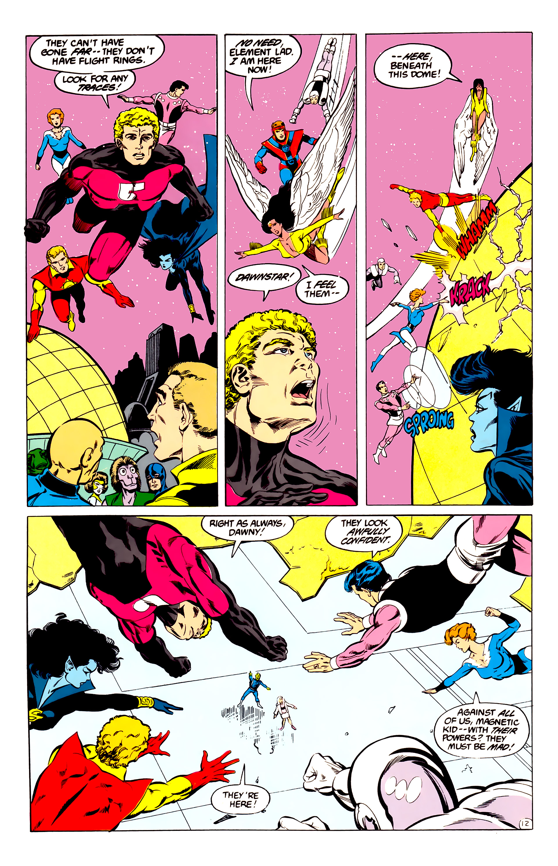 Legion of Super-Heroes (1984) 35 Page 12