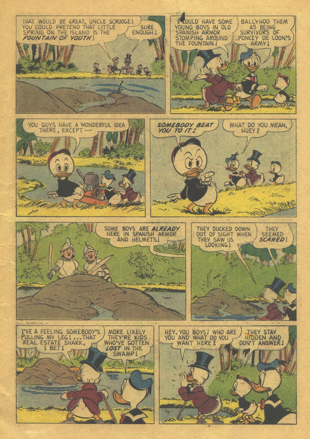 Read online Uncle Scrooge (1953) comic -  Issue #32 - 7