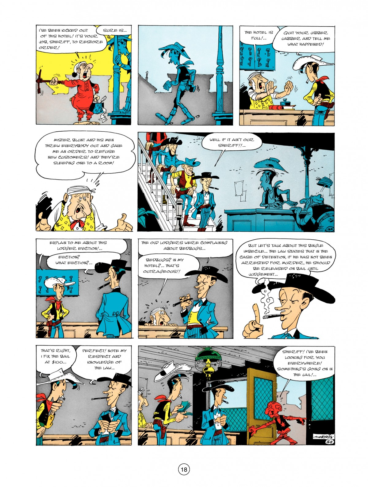 A Lucky Luke Adventure 5 Page 19