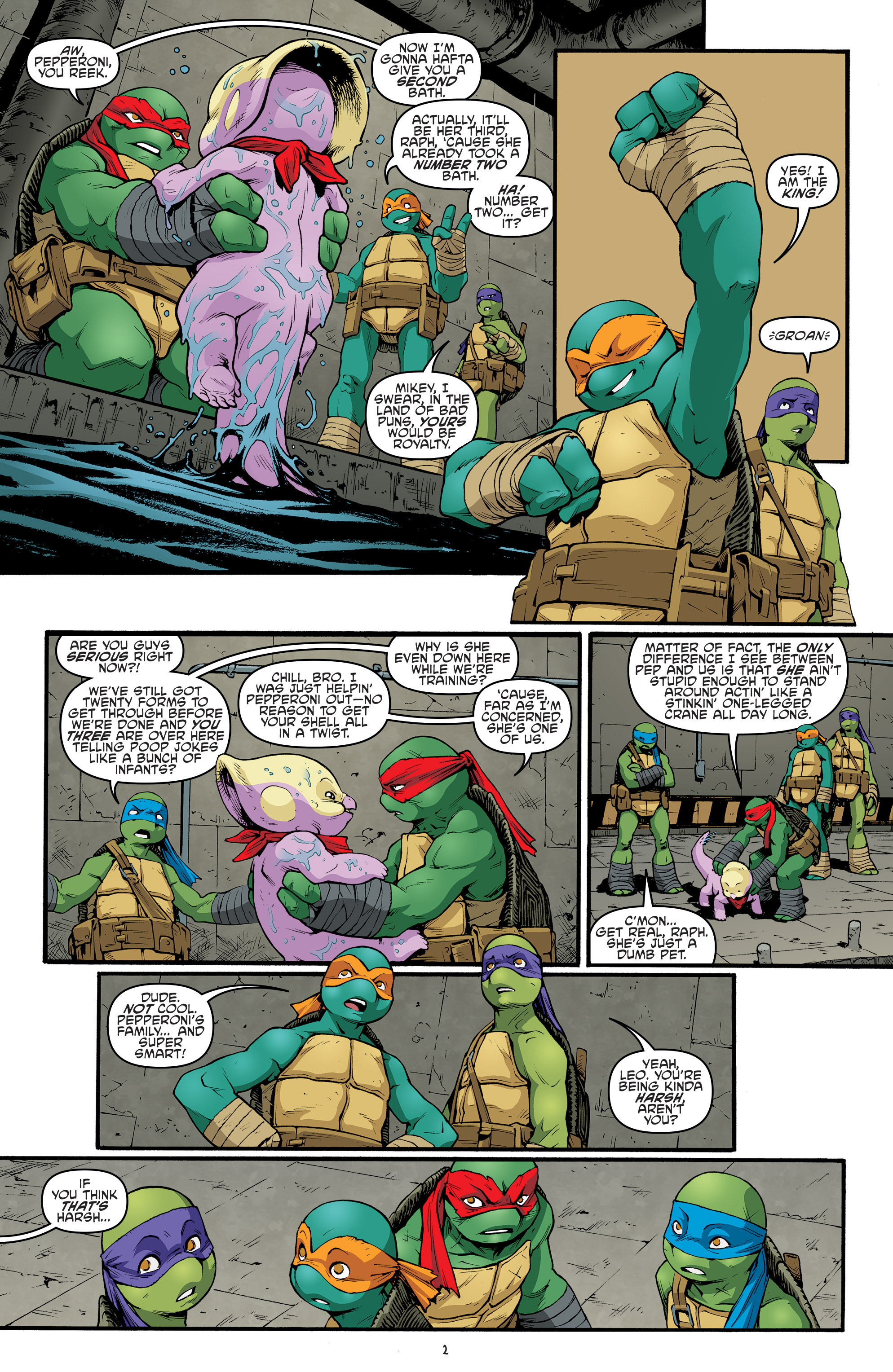 Read online Teenage Mutant Ninja Turtles (2011) comic -  Issue #68 - 4