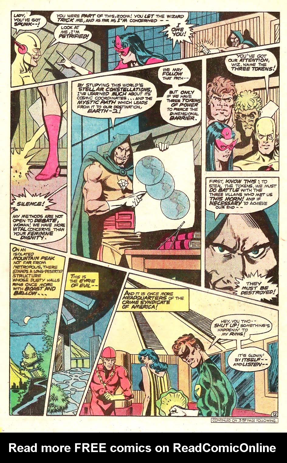 Read online Secret Society of Super-Villains comic -  Issue #13 - 13