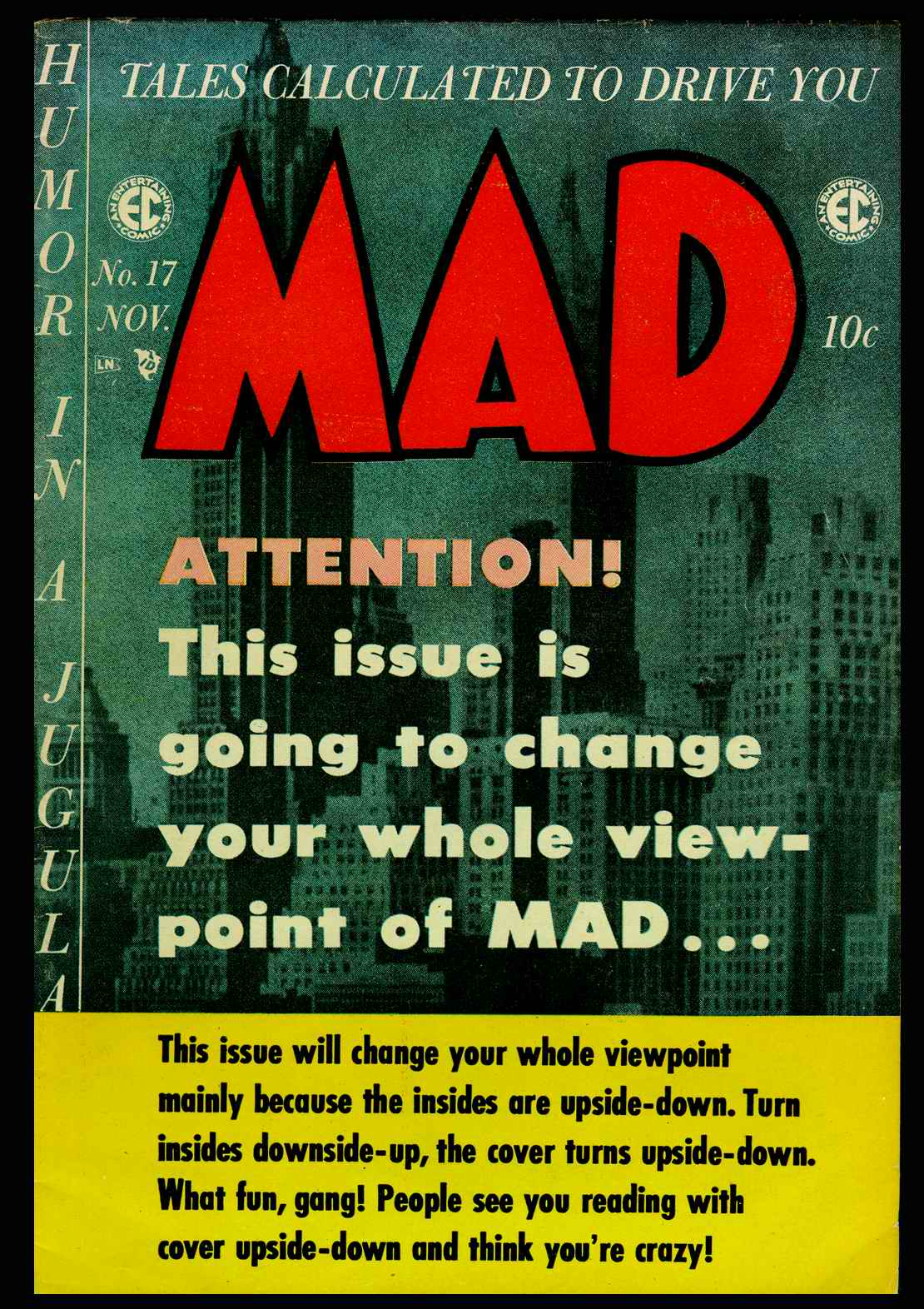 MAD issue 17 - Page 1