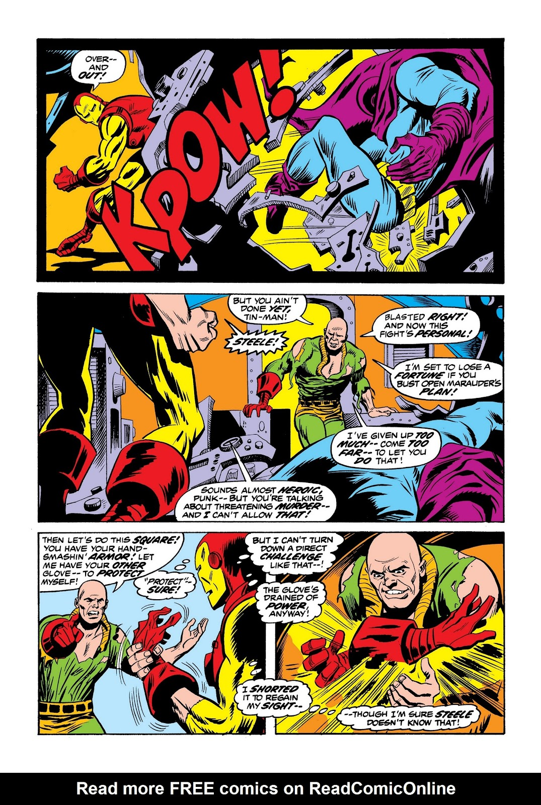 Read online Marvel Masterworks: The Invincible Iron Man comic -  Issue # TPB 9 (Part 2) - 70