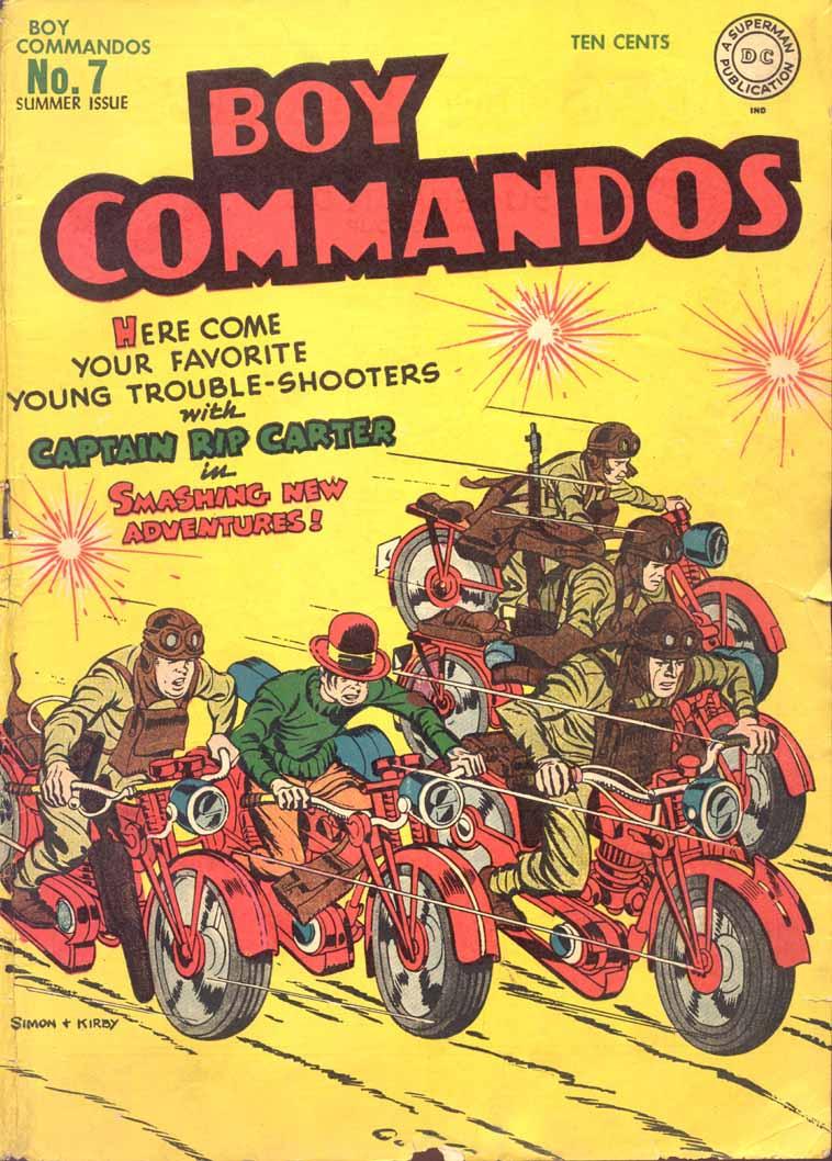 Boy Commandos 7 Page 1
