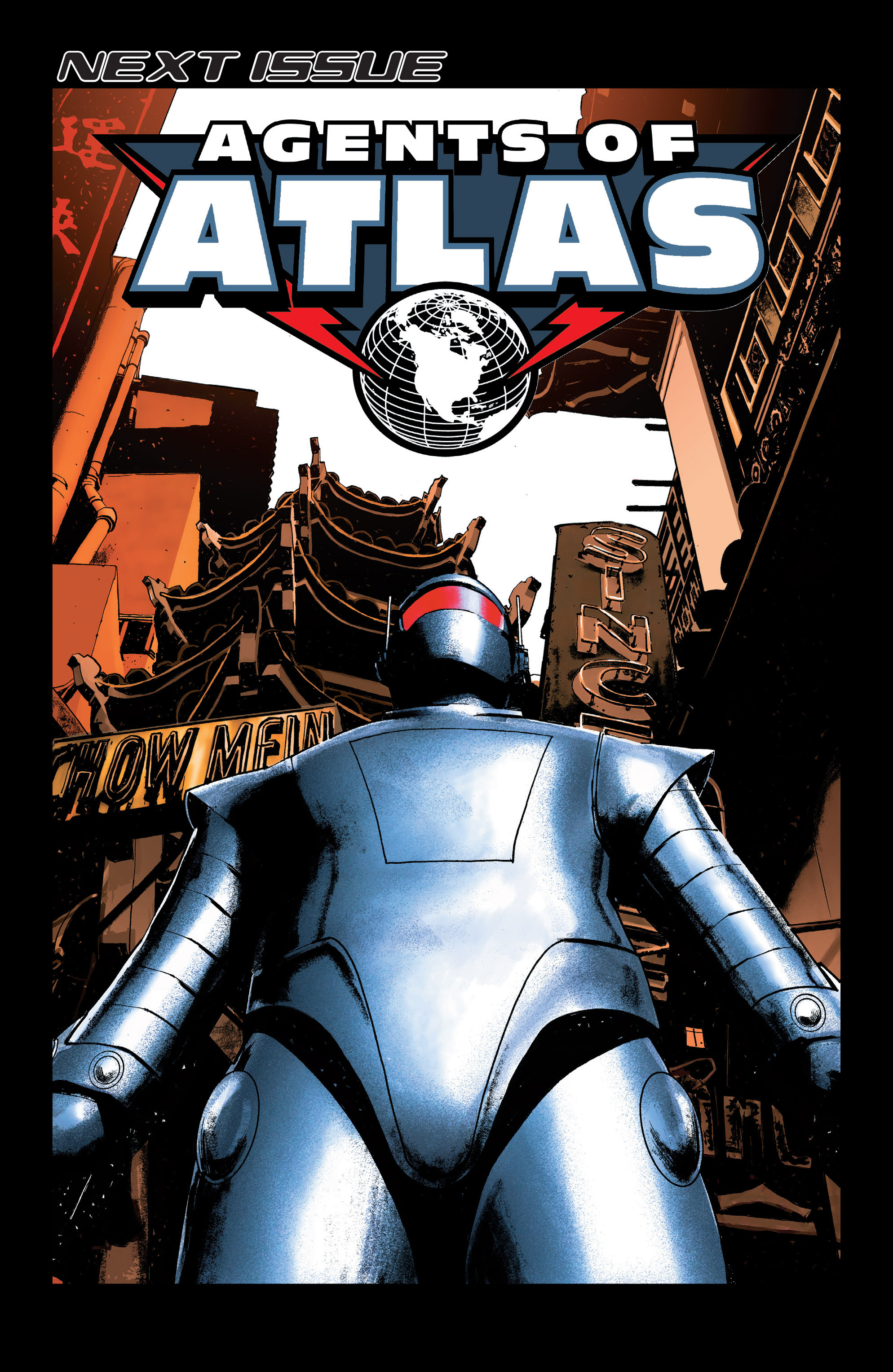 Read online Agents Of Atlas (2006) comic -  Issue #5 - 24