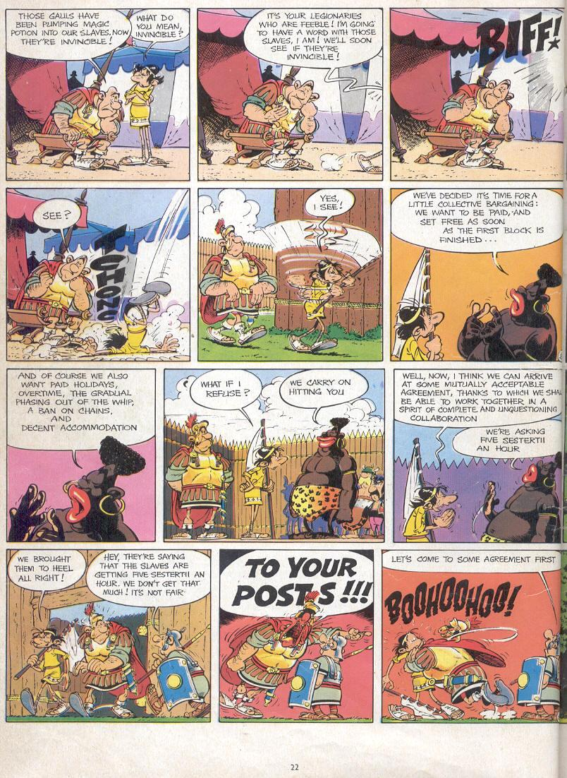Read online Asterix comic -  Issue #17 - 20