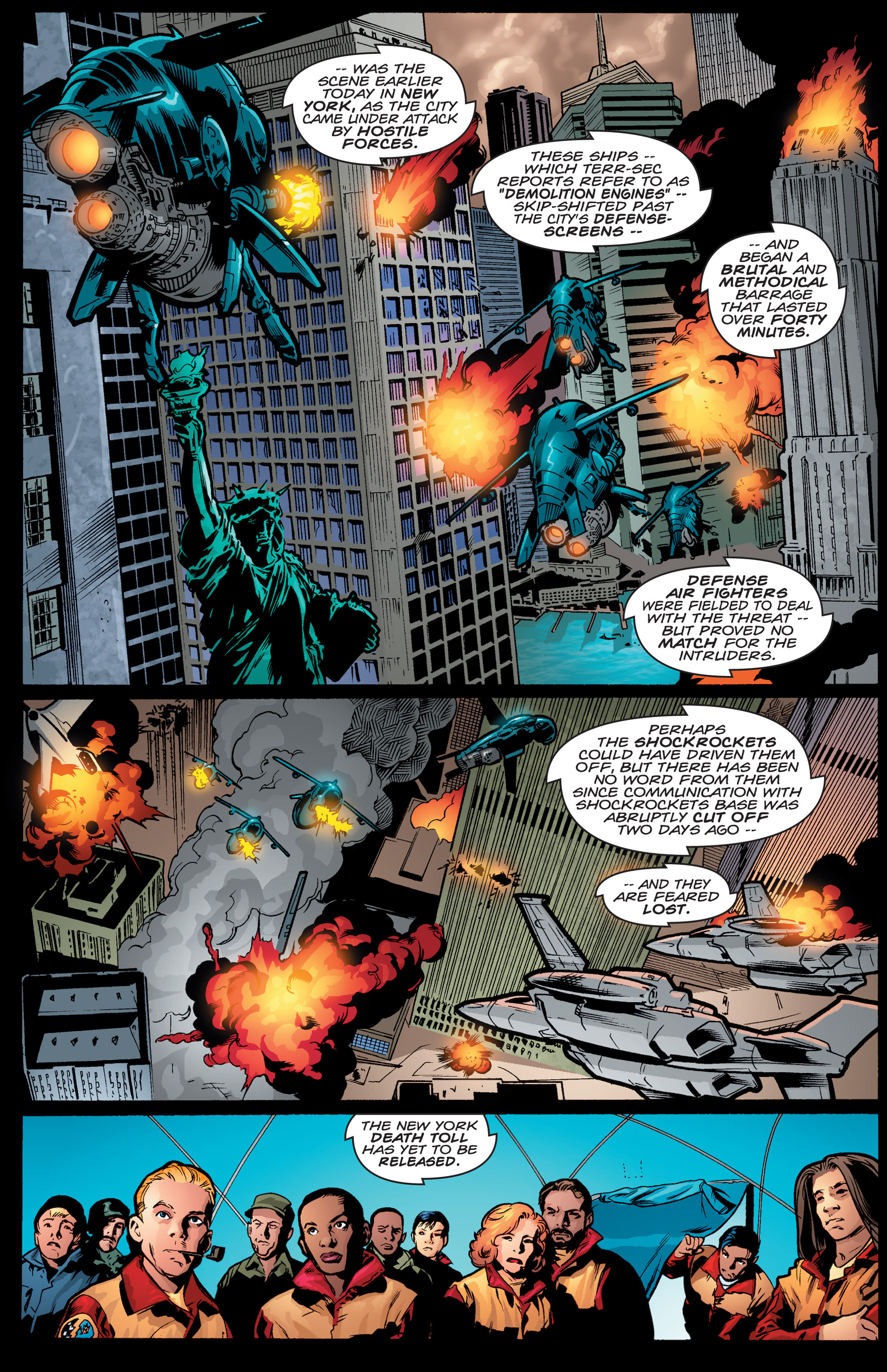 Read online Shockrockets comic -  Issue # TPB - 131