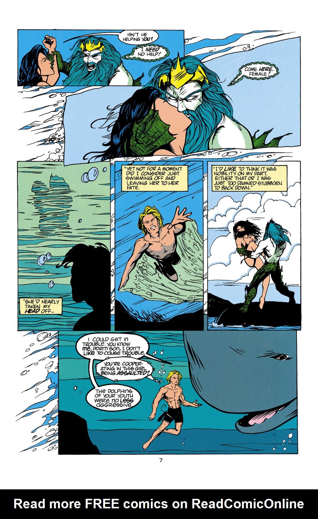 Read online Aquaman (1994) comic -  Issue #Aquaman (1994) _Annual 1 - 8