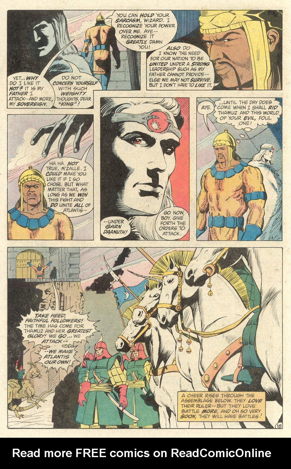 Read online Arion, Lord of Atlantis comic -  Issue #2 - 18